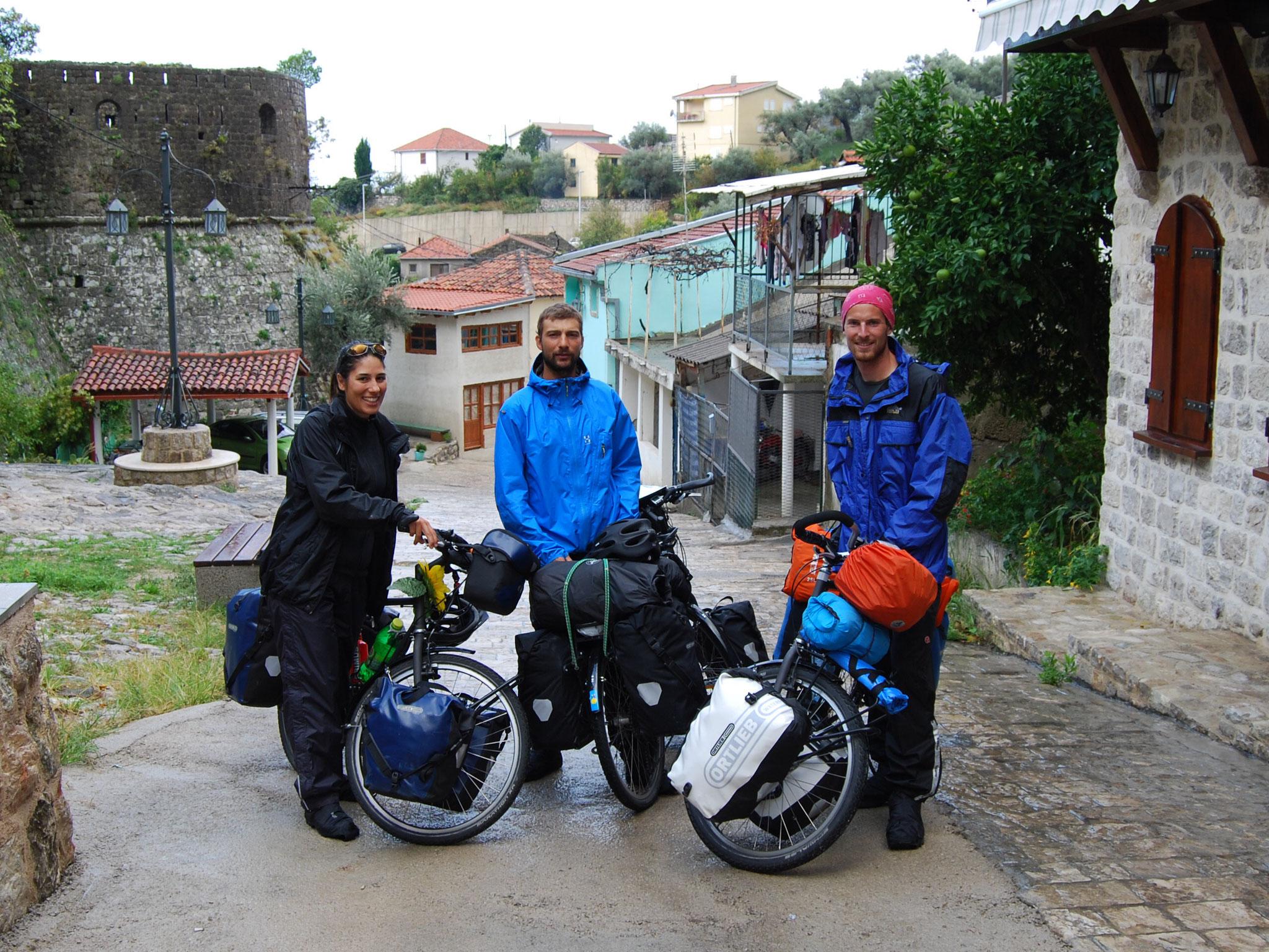Laetitia, Davide et Gaëtan qu'on vient de rencontrer!