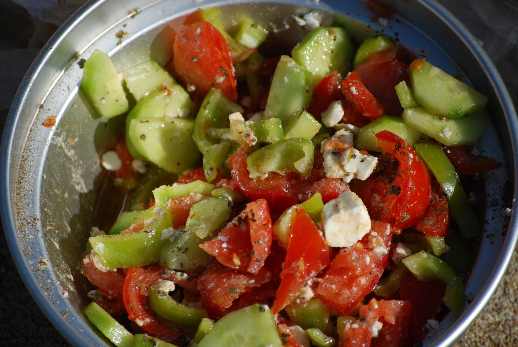 Succulente salade grecque!