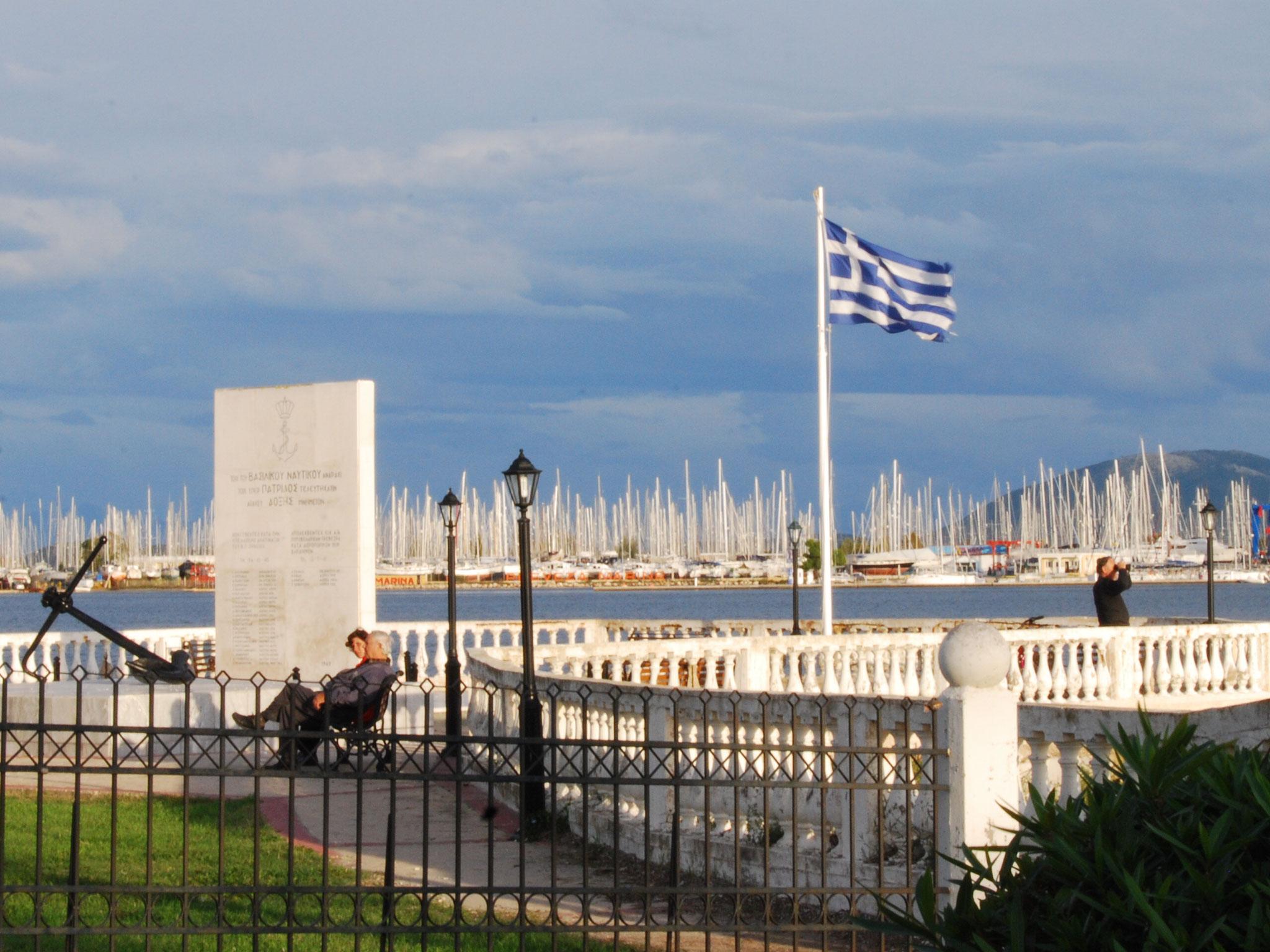 Ambiance portuaire grecque