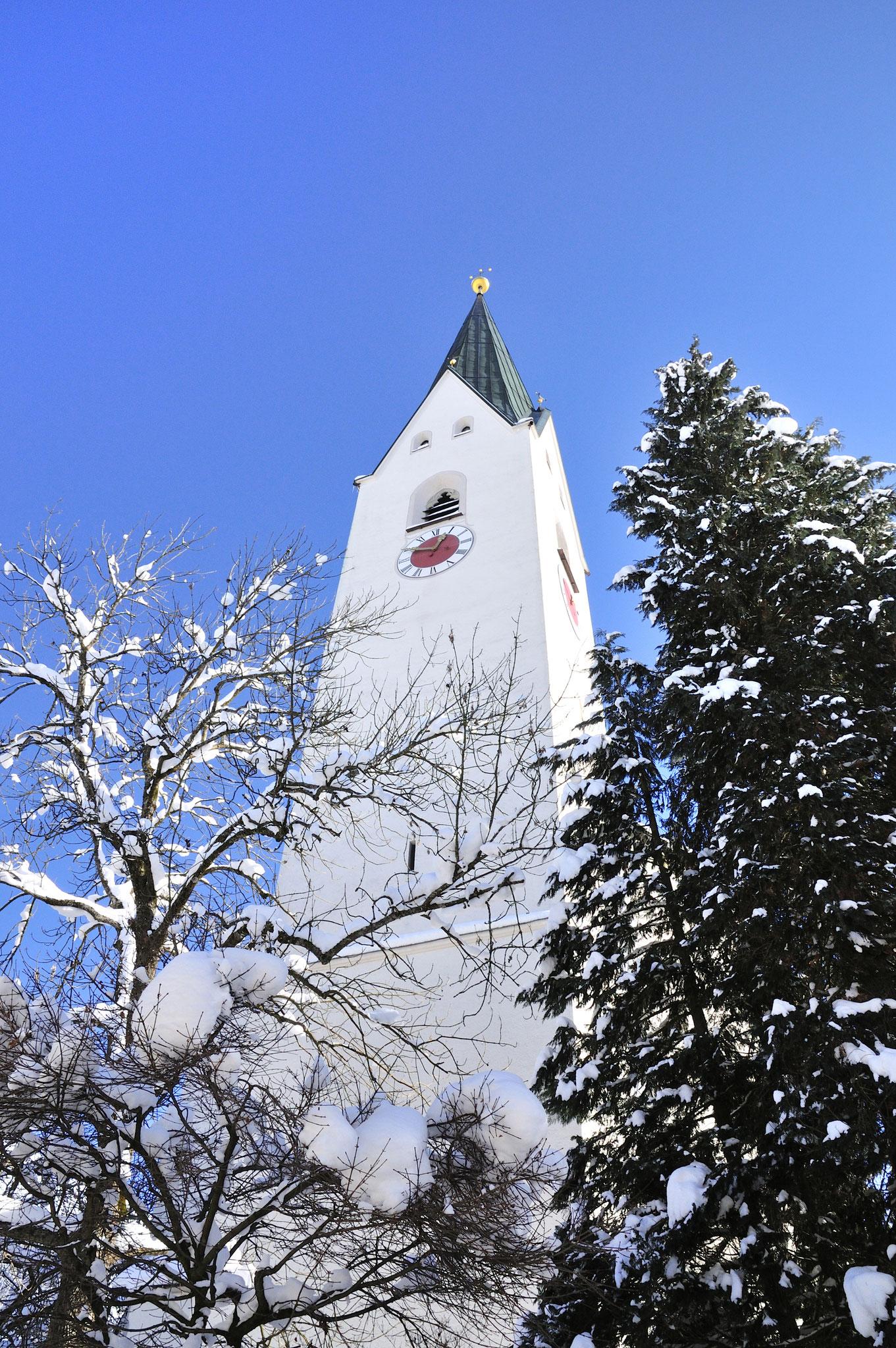 """Stadtkirche, Bildrechte """"Tourismus Oberstdorf"""""""