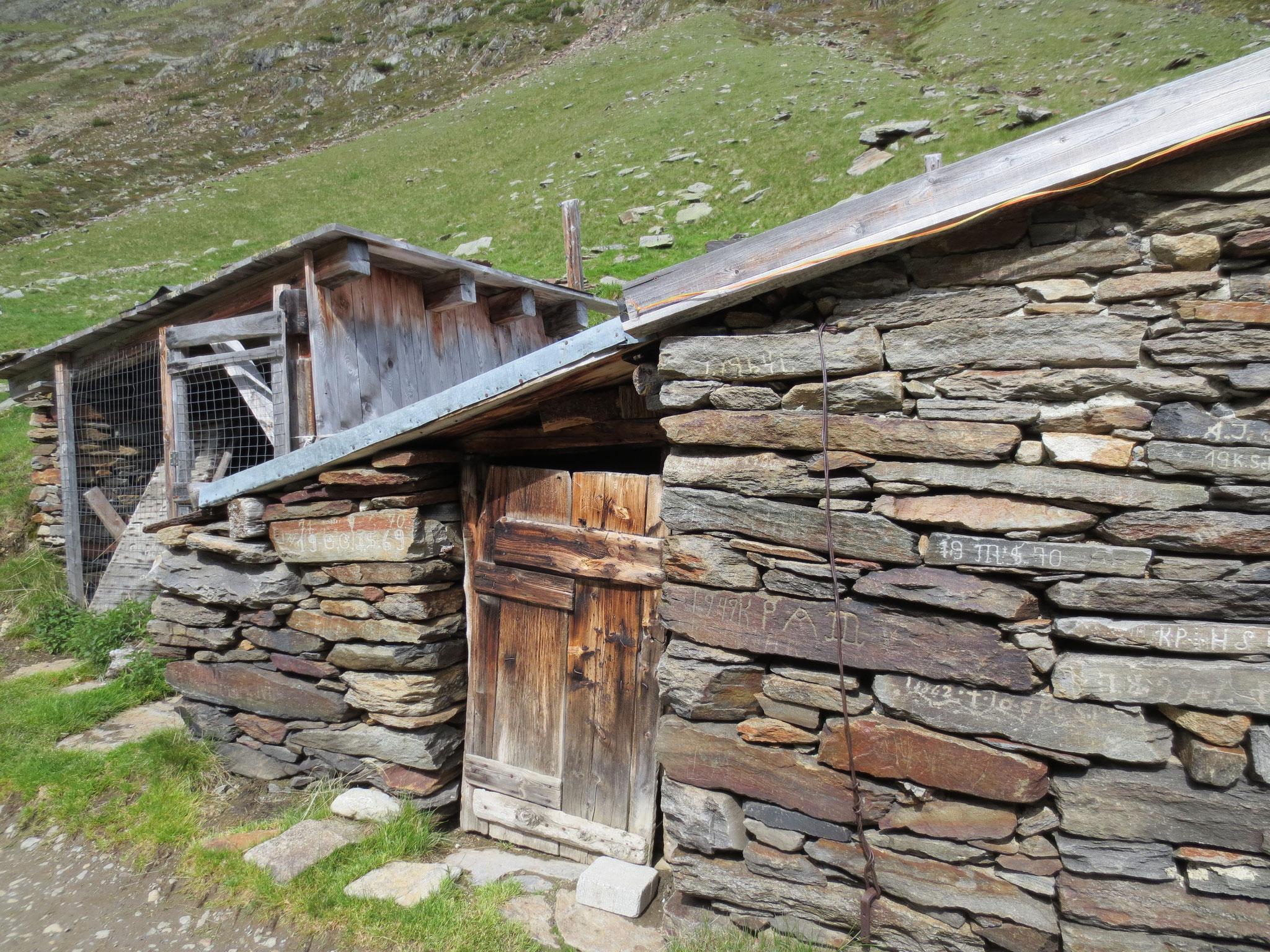 auf dem Weg zur Similaun Hütte