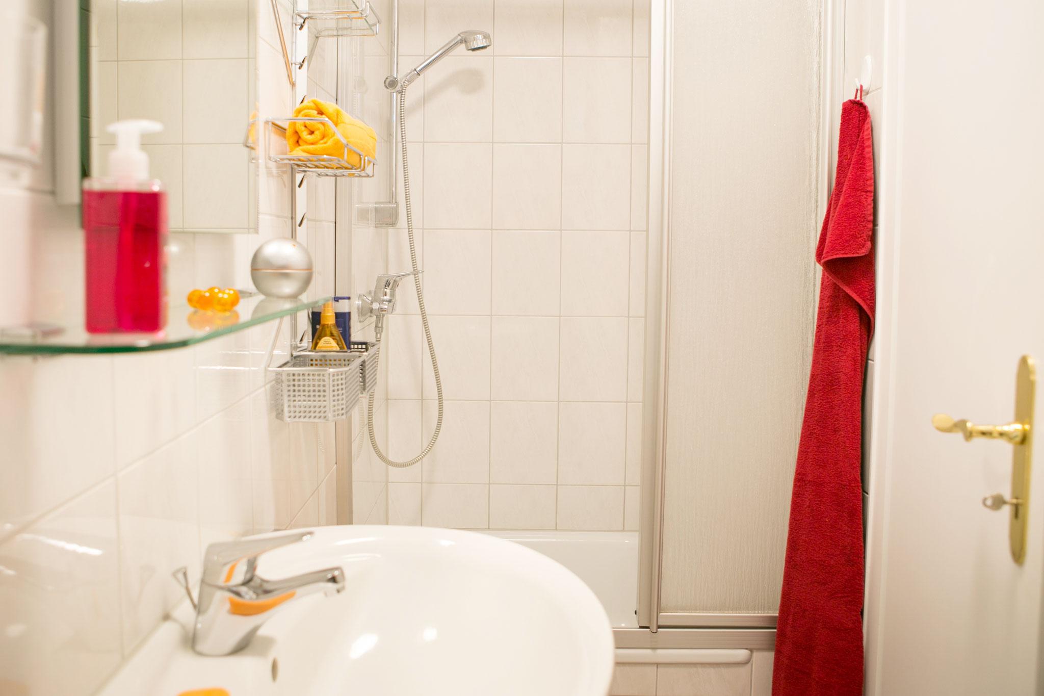 Bad mit schöner Dusche