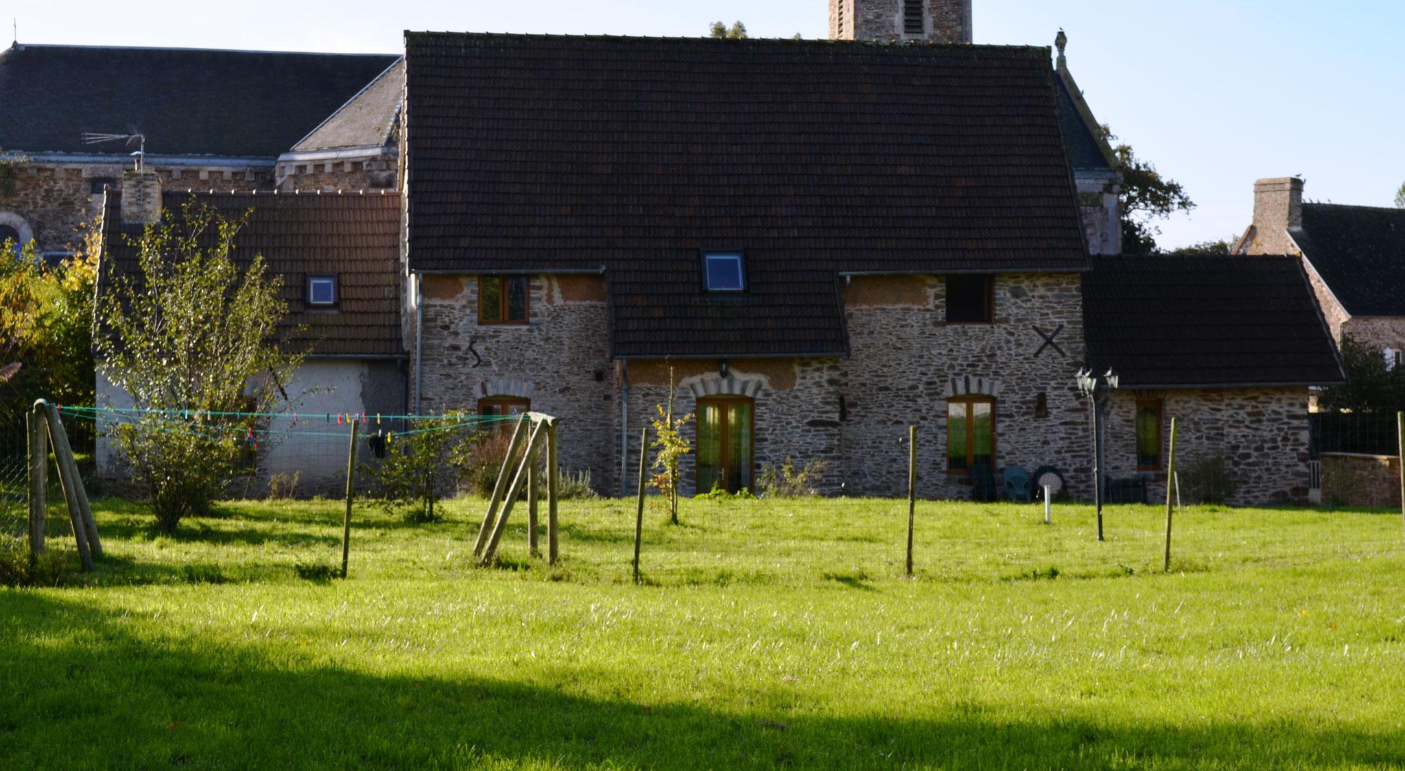 La Cidrerie et son jardin privé
