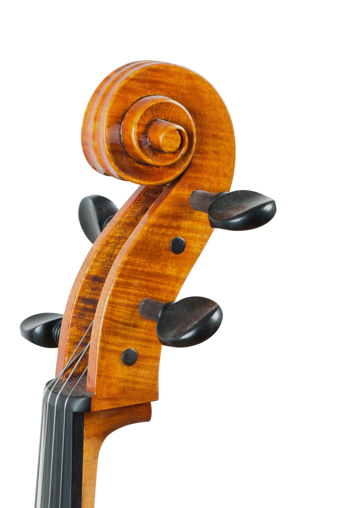 "7/8 Cello nach G.B. Guadagnini 1757 ""Teschenmacher"" (2015/CH), Photo: VDB Photography"