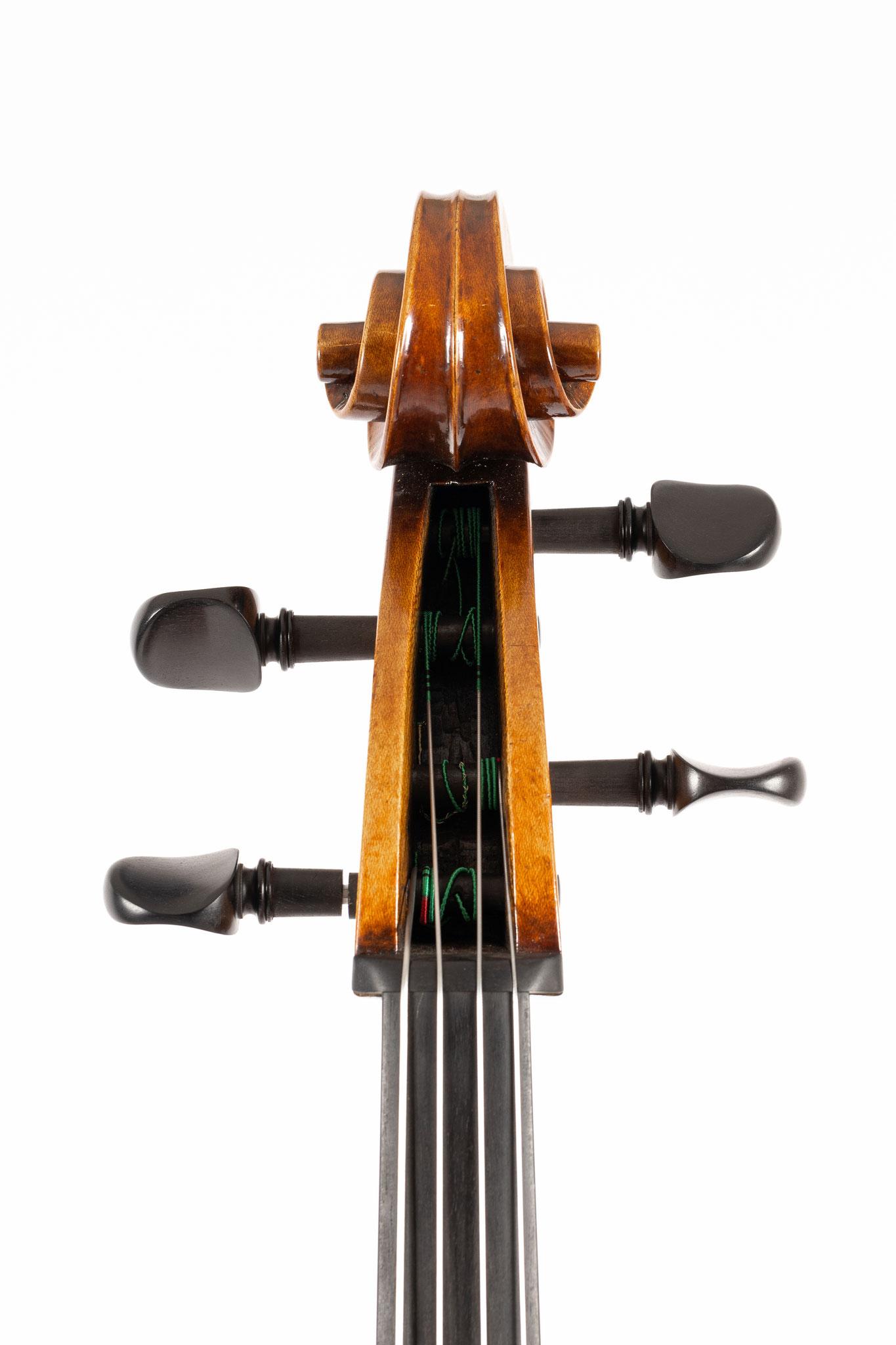7/8 Cello nach G.B. Guadagnini (2020/CH), Photo: VDB Photography