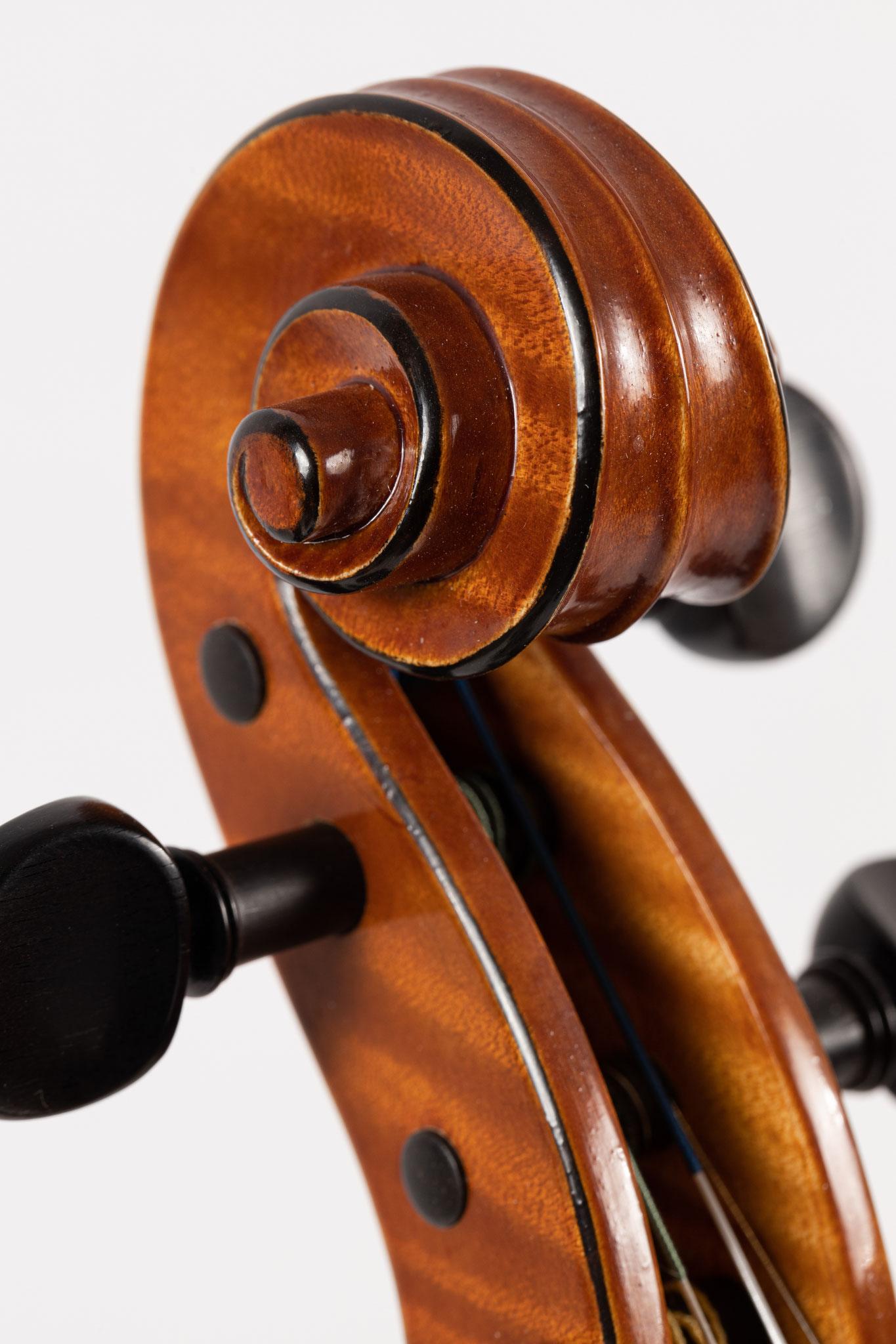 Geige nach Antonio Stradivari (2019/CH), Photo: VDB Photography