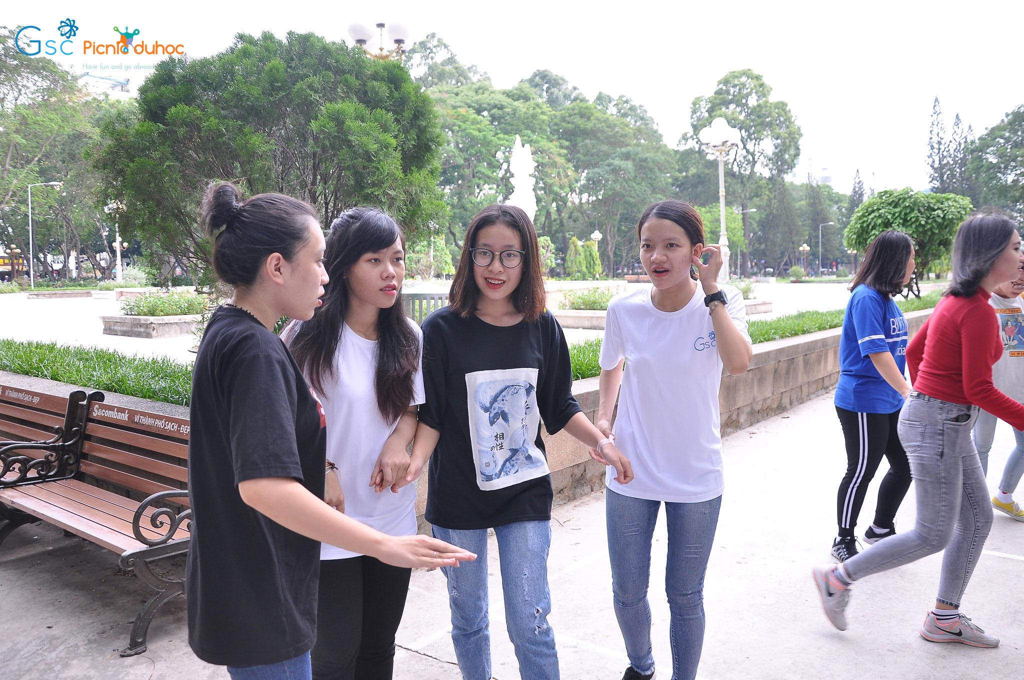 Picnic du học Gsc mùa 3 Tp.HCM - Hanoi