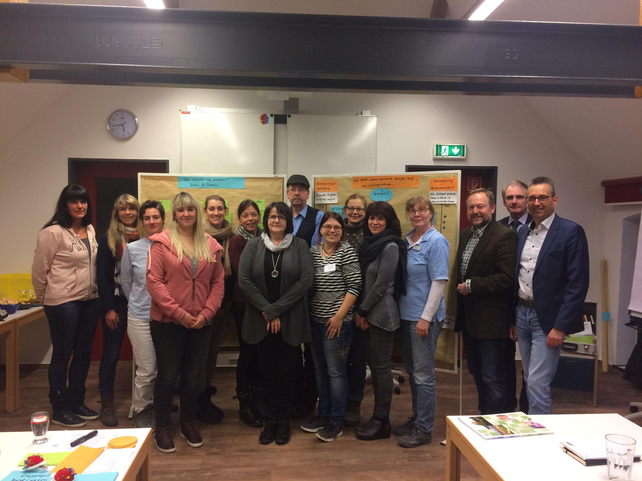 """Organisation """"kommunaler/ regionaler Pflegetisch""""- Bundesprogramm Regionaldialog """"Pflege stärken"""" durch BMG"""