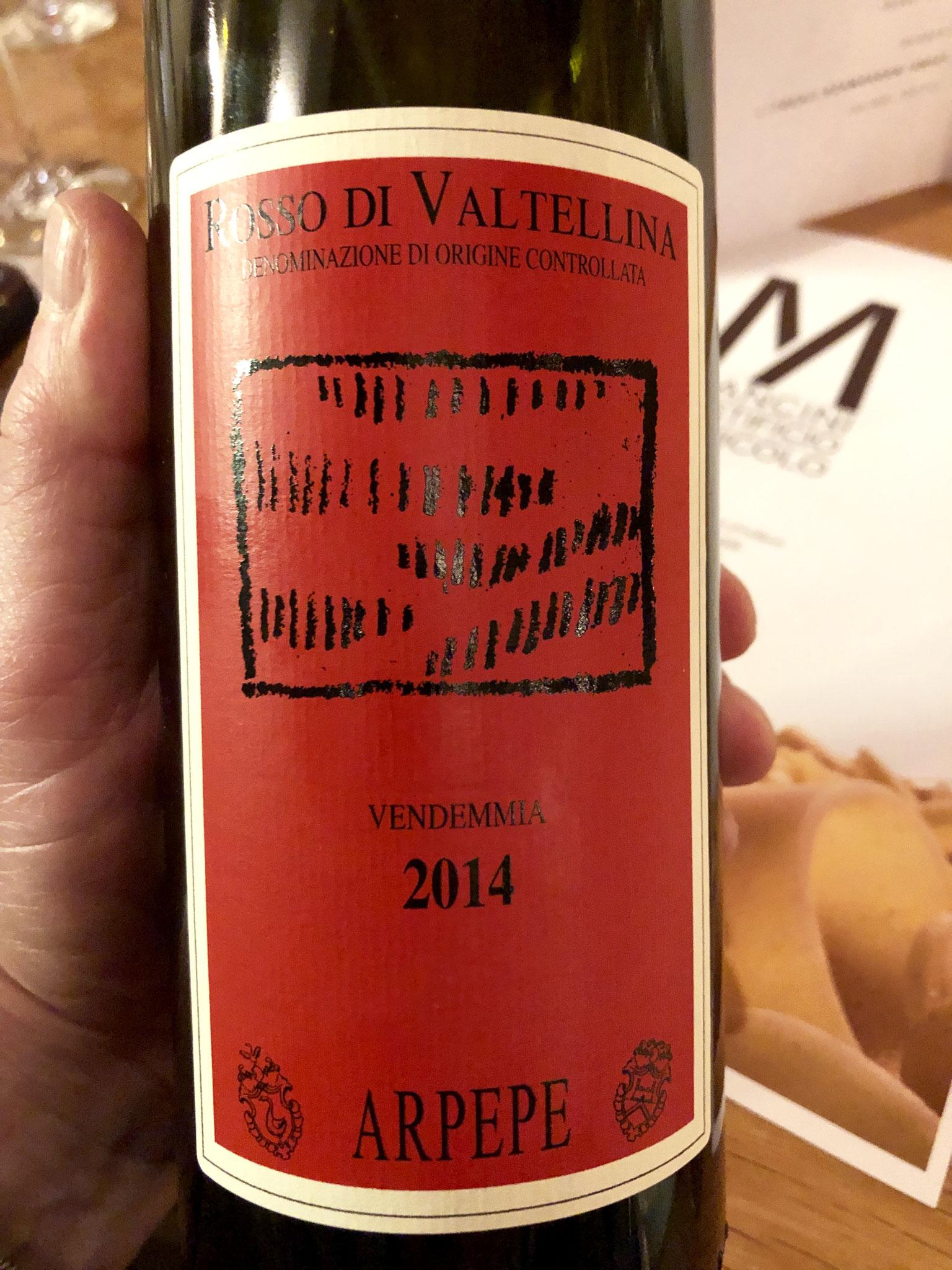 we waren het allemaal eens: deze wijn is niet lekker: onrijp, schraal, geen fruit
