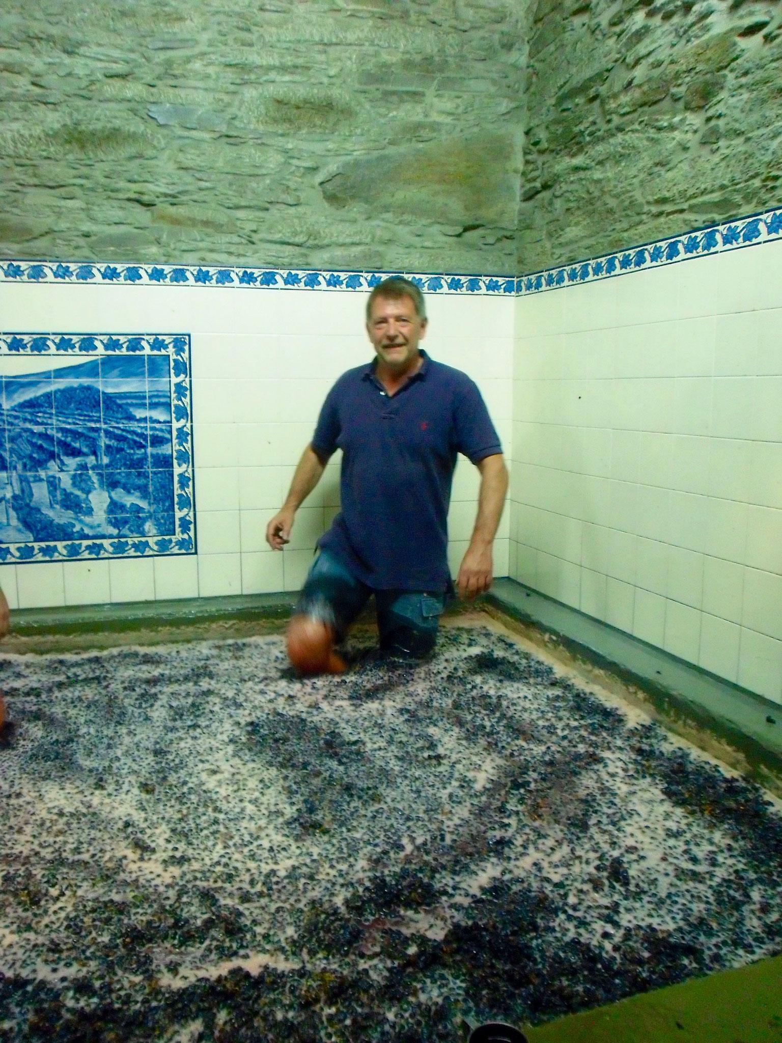 met de voeten treden in Portugal, Douro
