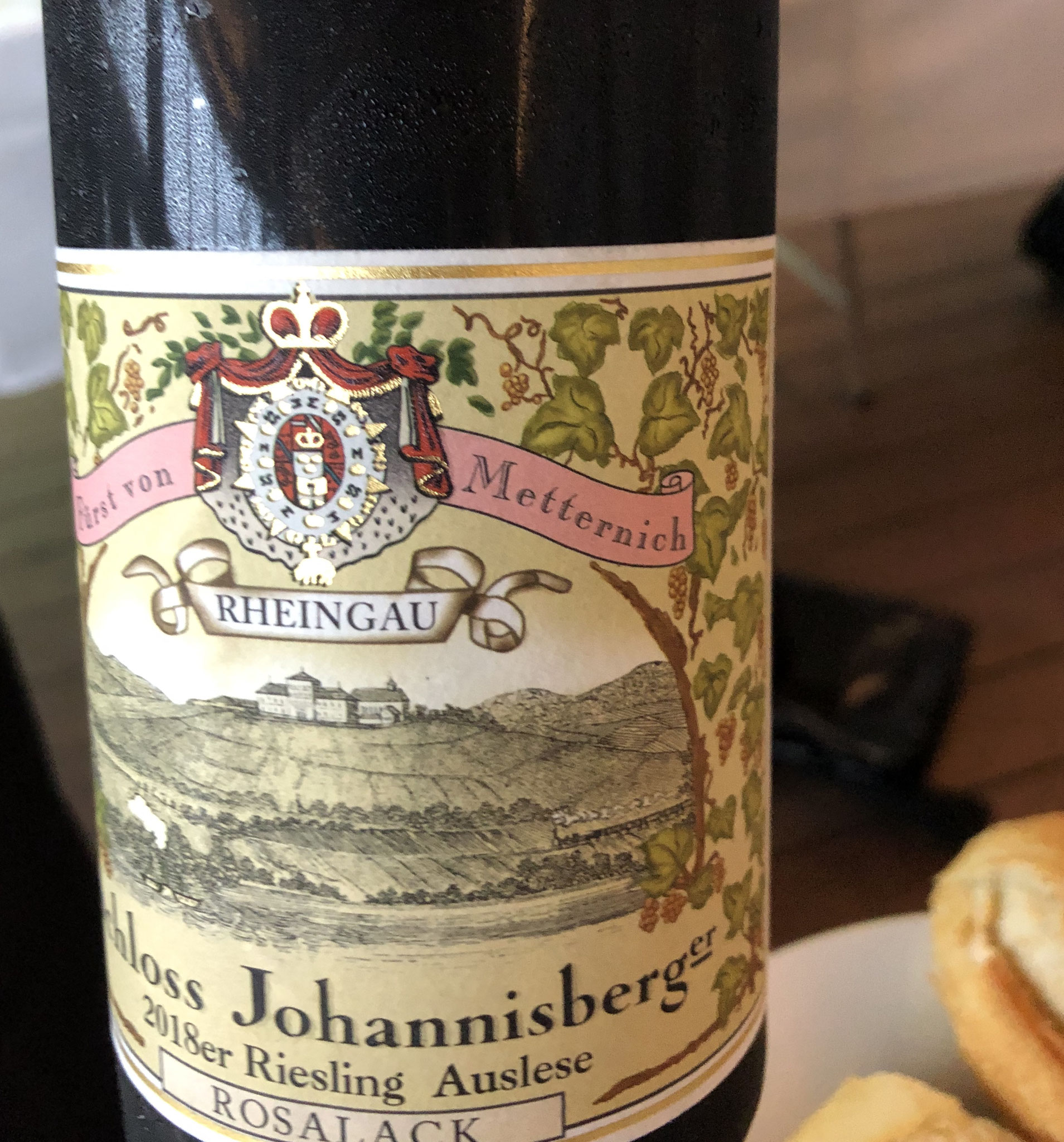 eerste Riesling-Weingut der Welt met één van de beste Riesling-Terroirs