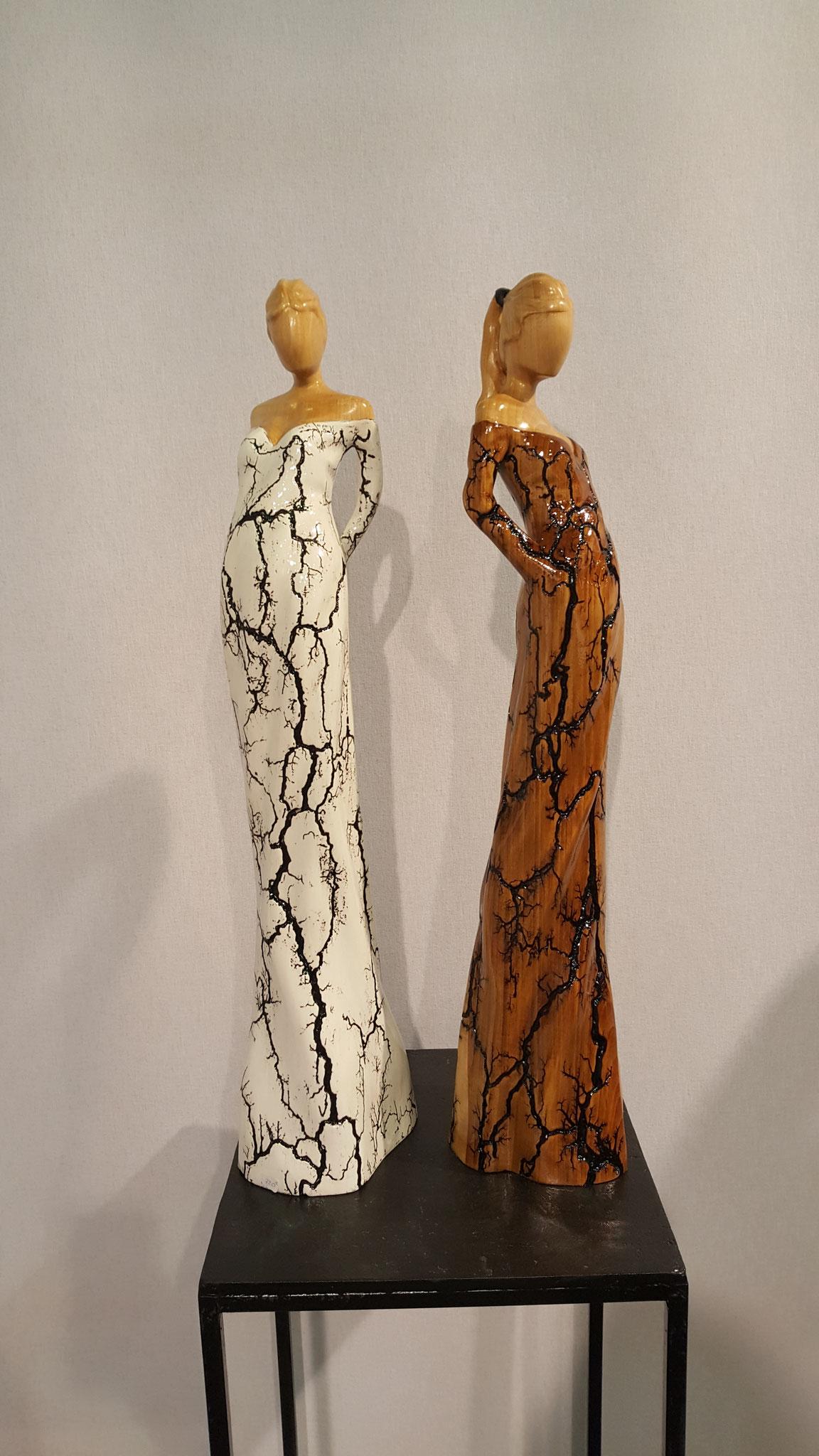 """sculpture sur bois de """"Najean"""""""