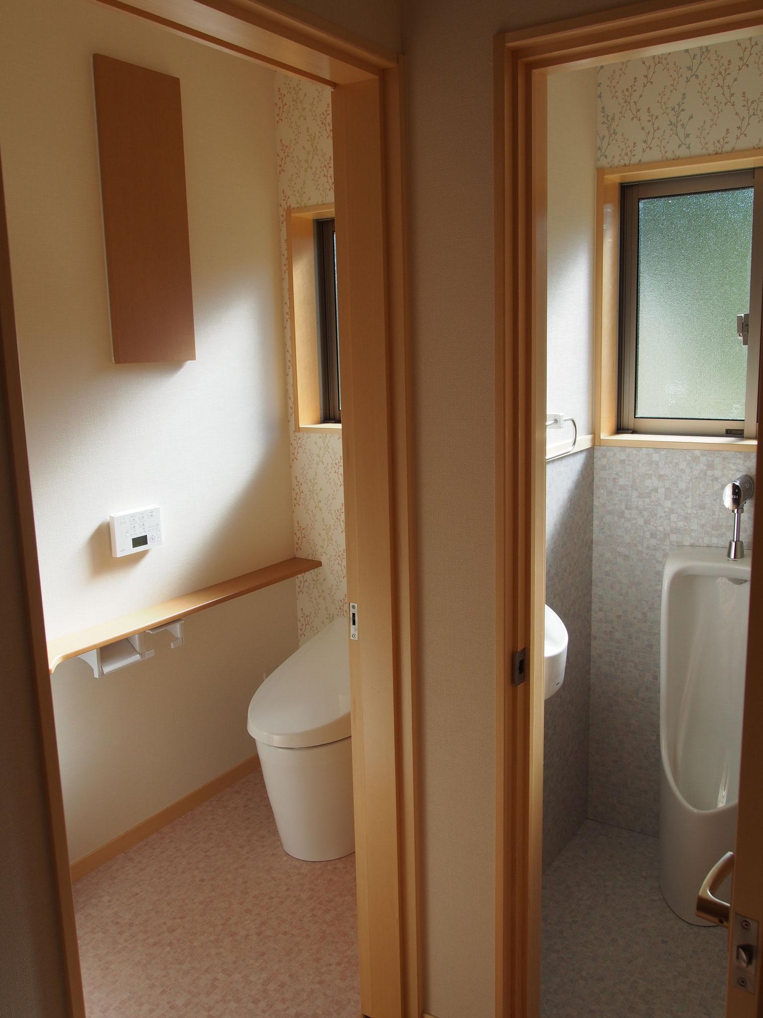 ベイヒバトイレ