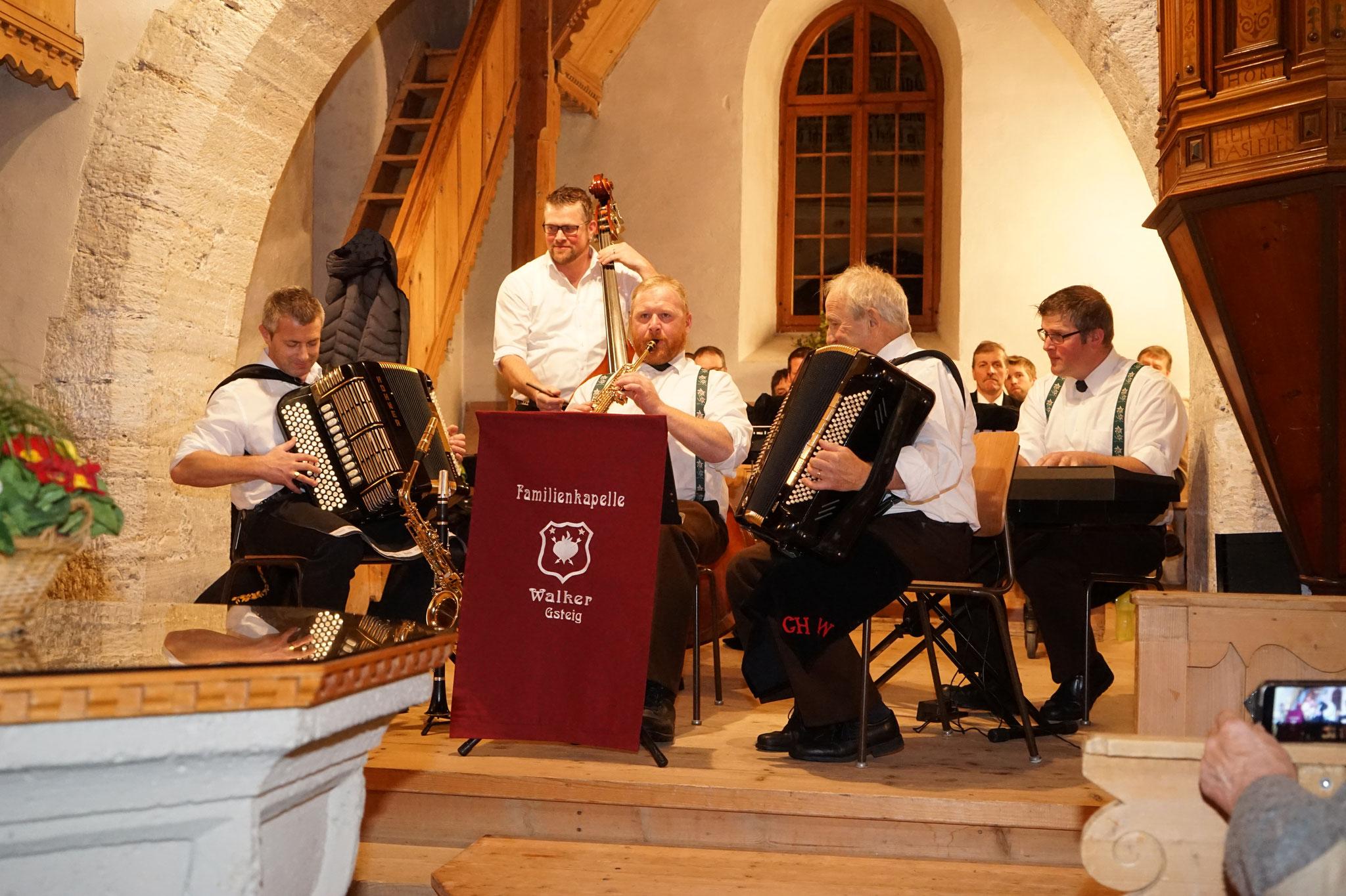 Konzert So tönts im Gsteig in der Kirche Gsteig 2020