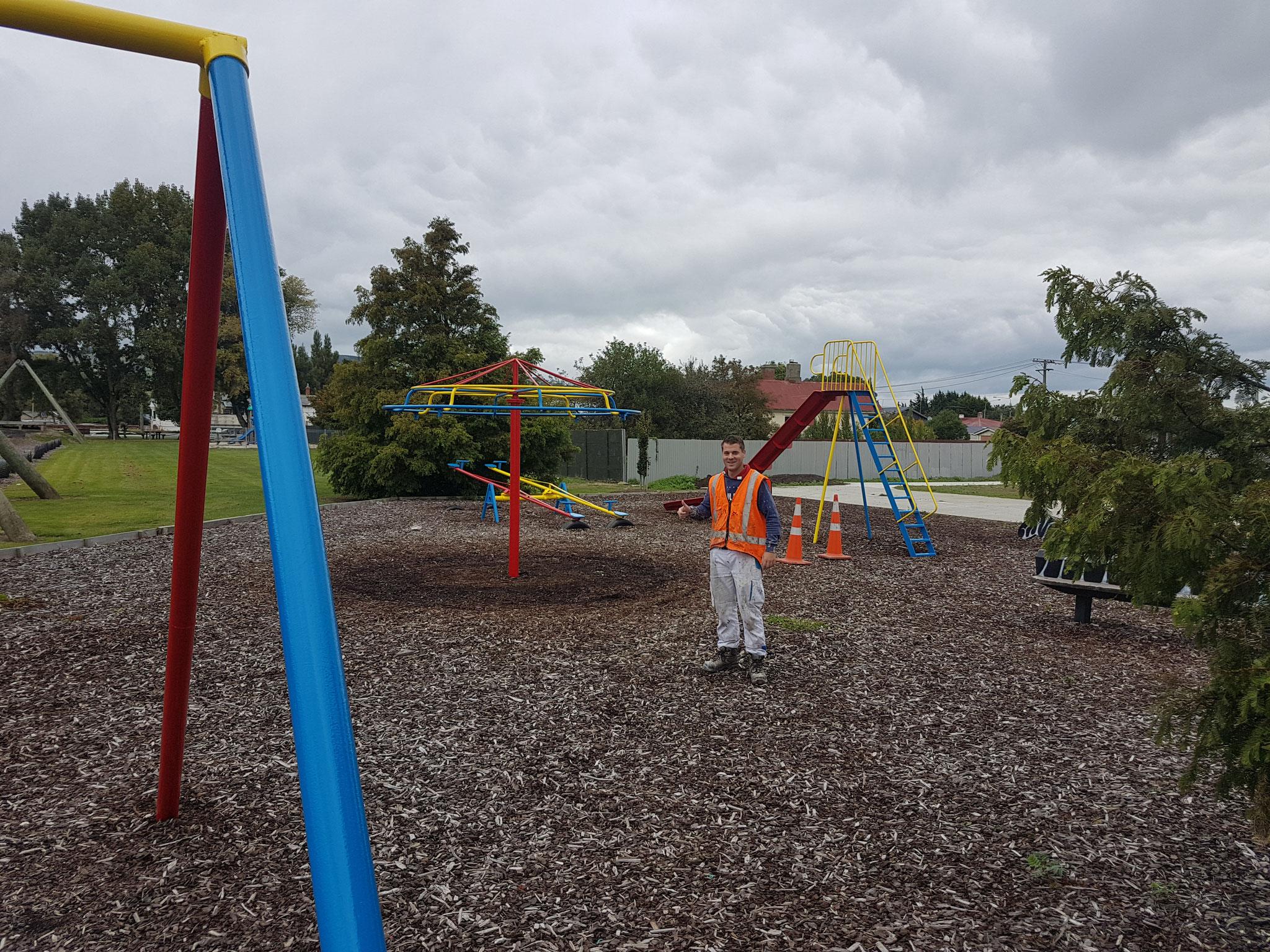 Kinderspielplatz, Neuseeland