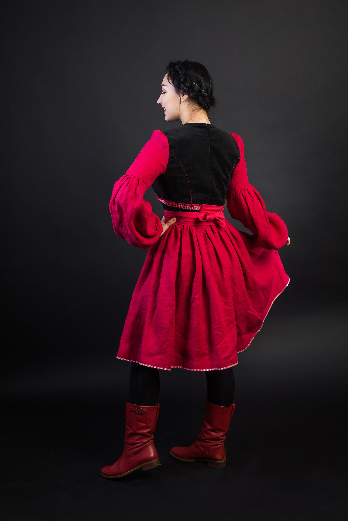 платье в русском стиле, русская одежда, русское платье