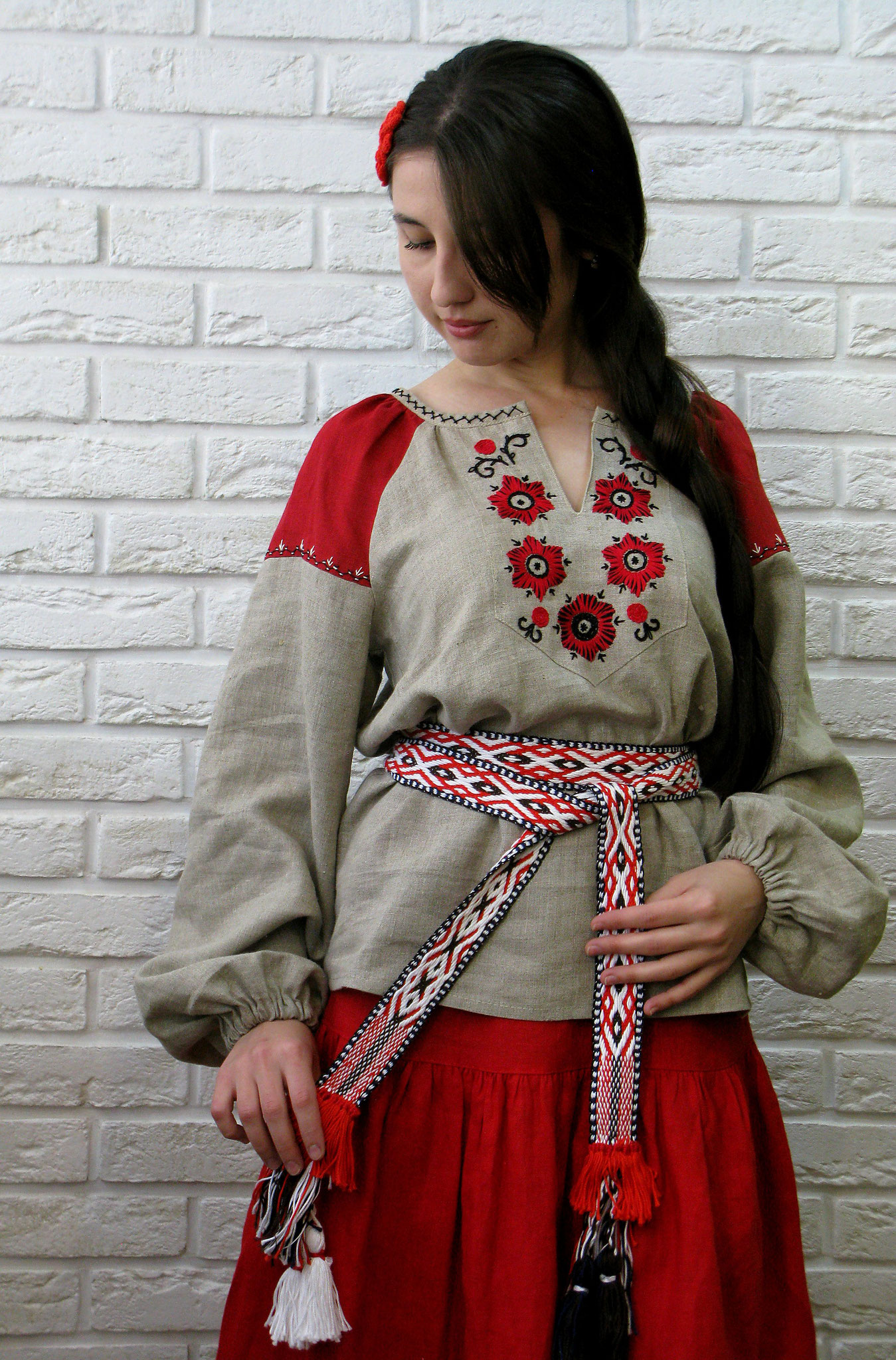 russian style dress, traditional russian dress