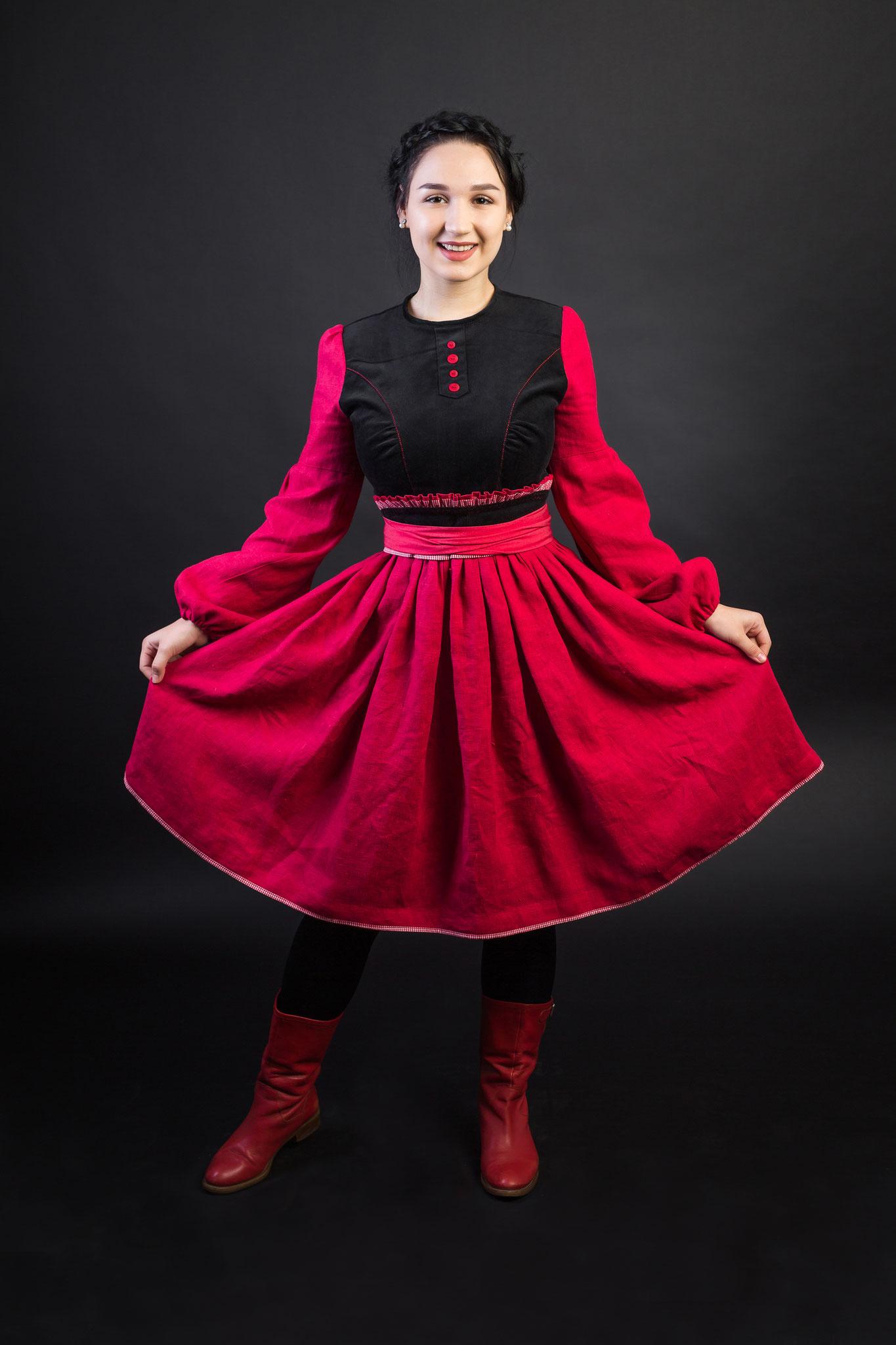платье в русском стиле, русская одежда, русская мода, русский стиль