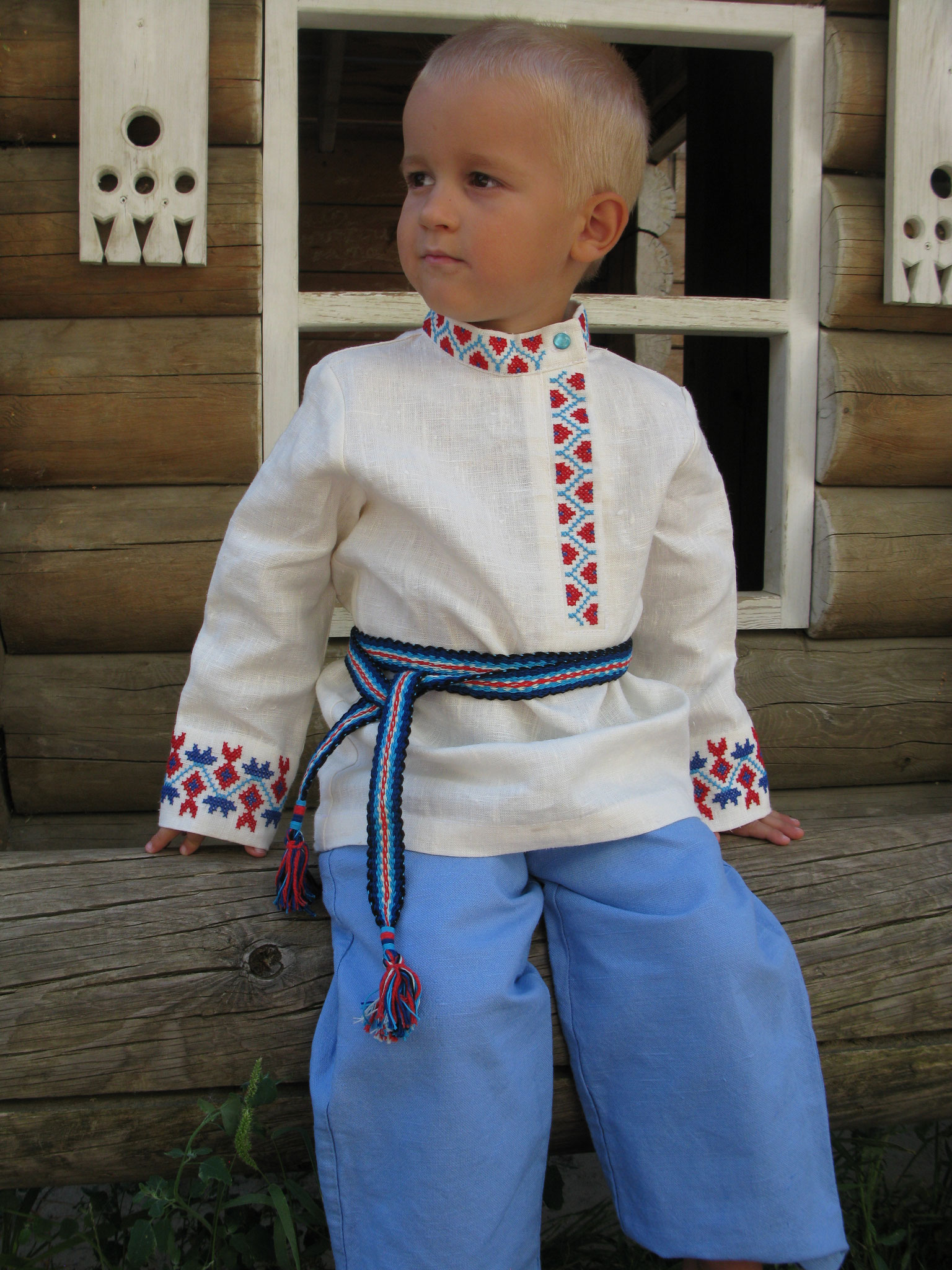 Russian traditional costum for boy  100$