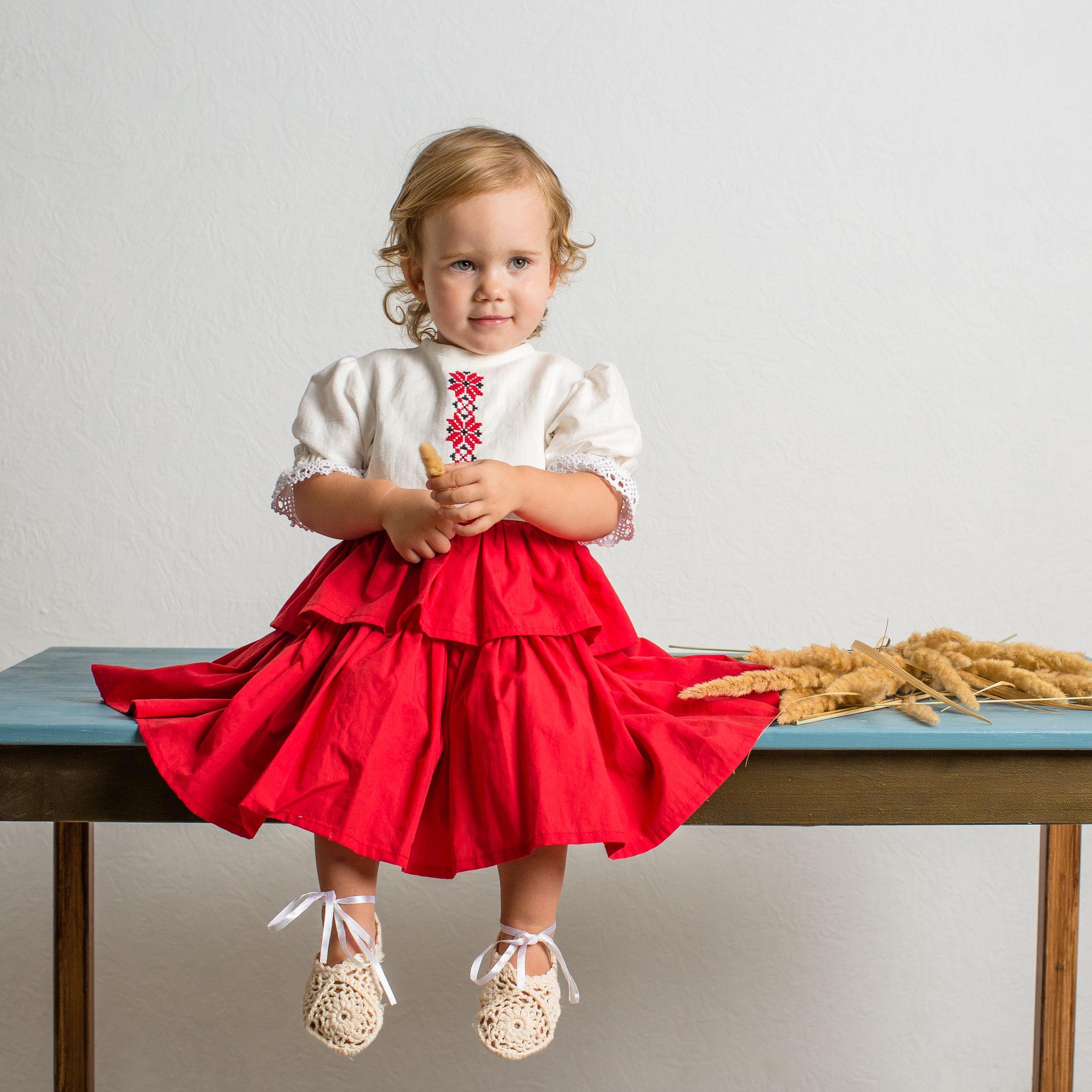 russian style dress custom made  100$