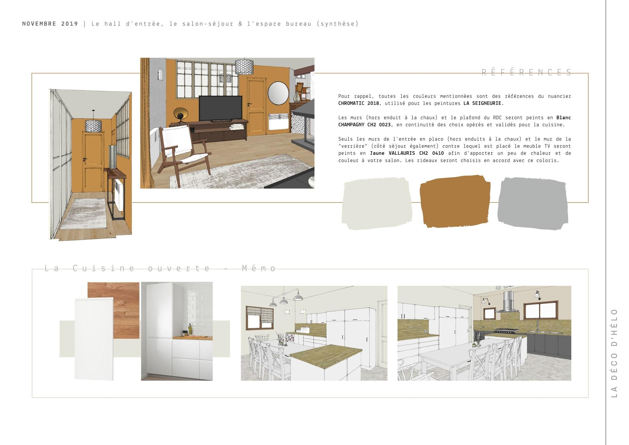 Projet Mens (2/3) © 2020 La Déco d'Hélo, conseil en décoration intérieure à Grenoble