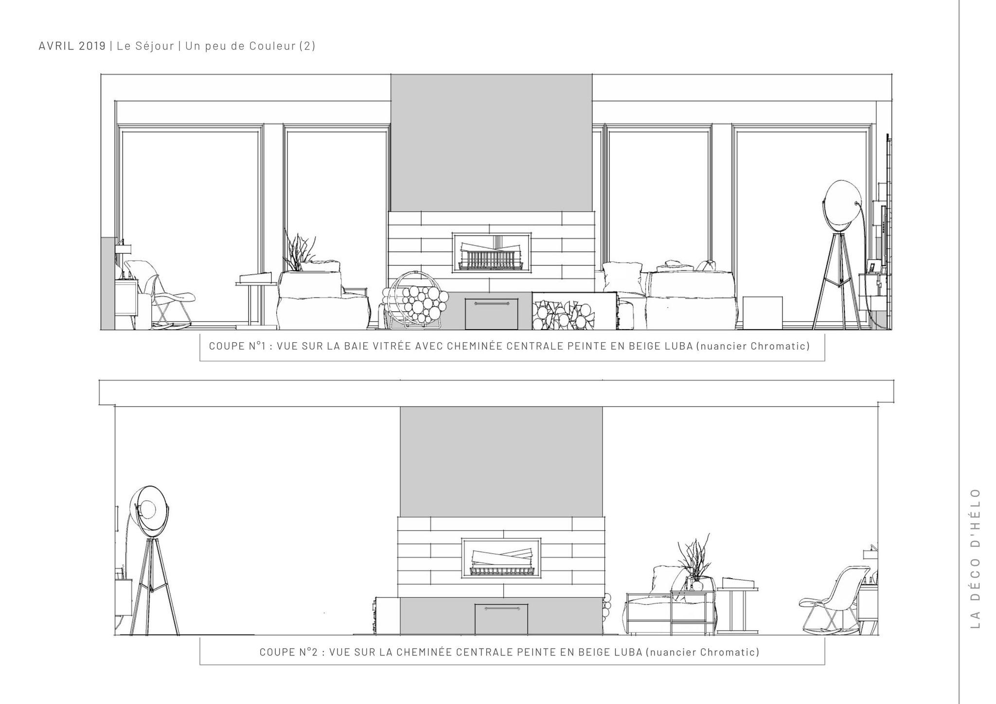 Projet Chamrousse (3/3) © 2020 La Déco d'Hélo, conseil en décoration intérieure à Grenoble