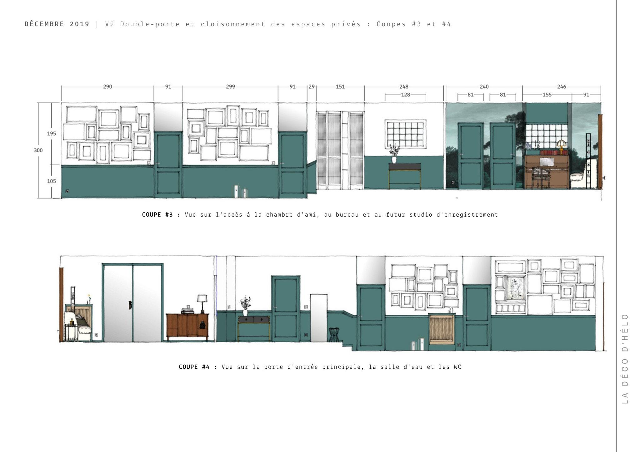 Projet FROSGES (2/3) © 2020 La Déco d'Hélo, conseil en décoration intérieure à Grenoble