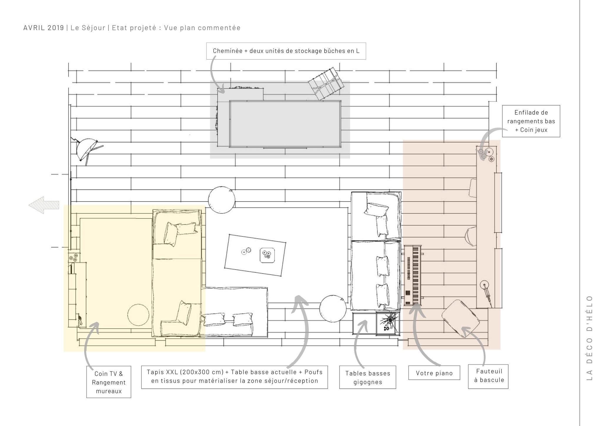 Projet Chamrousse (2/3) © 2020 La Déco d'Hélo, conseil en décoration intérieure à Grenoble
