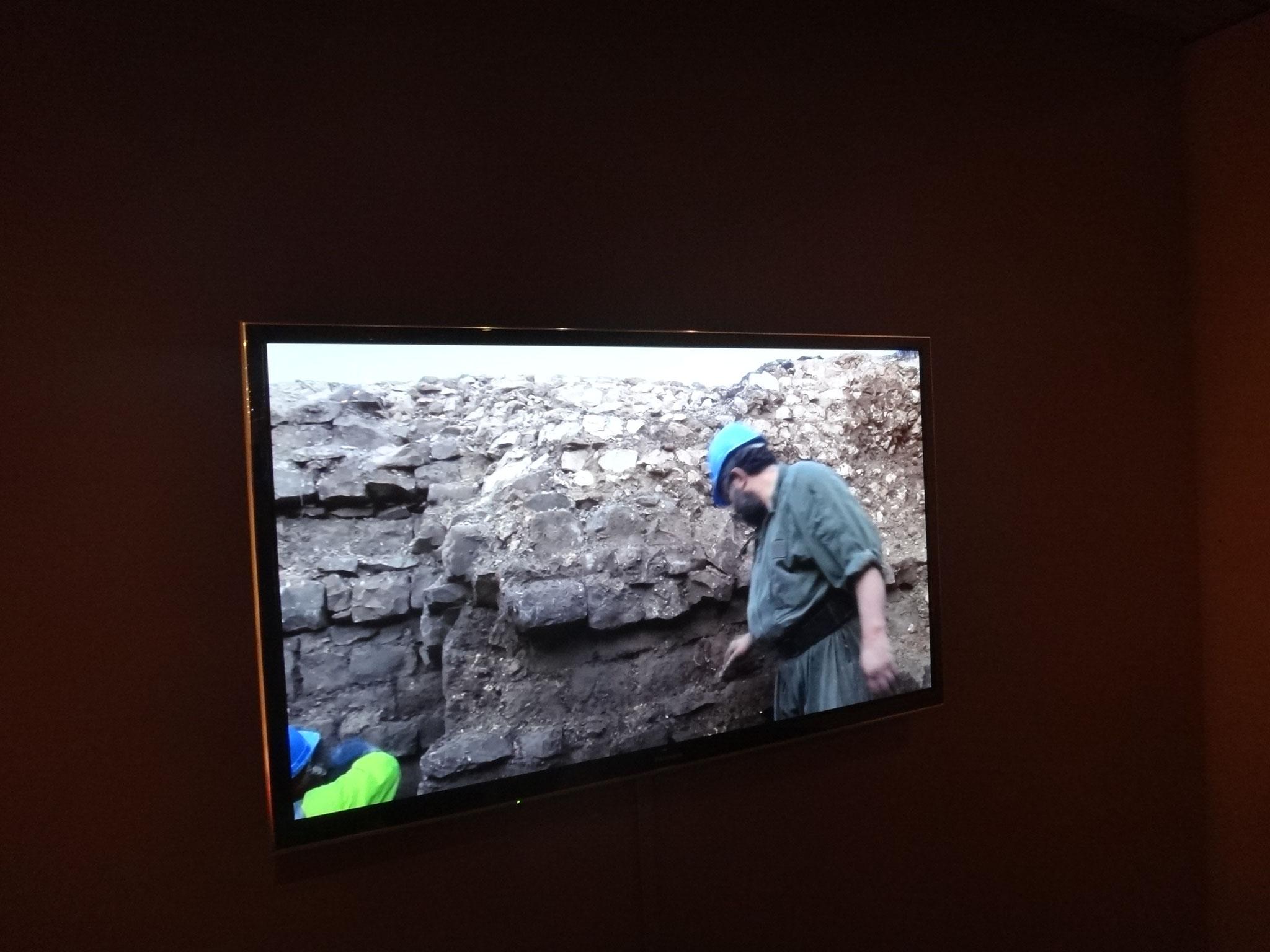 Une vidéo nous explique les fouilles