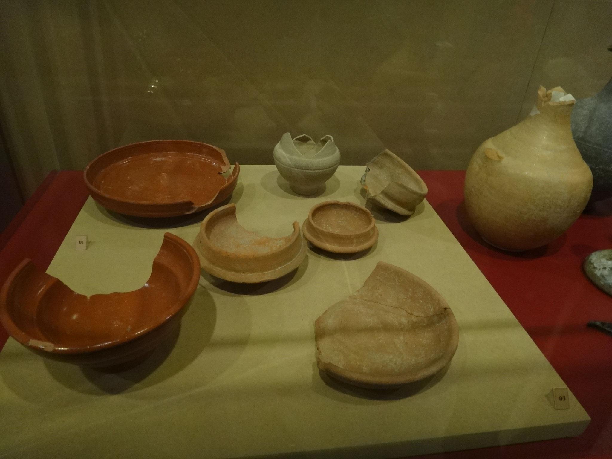 Céramiques 1er et 2è siècle