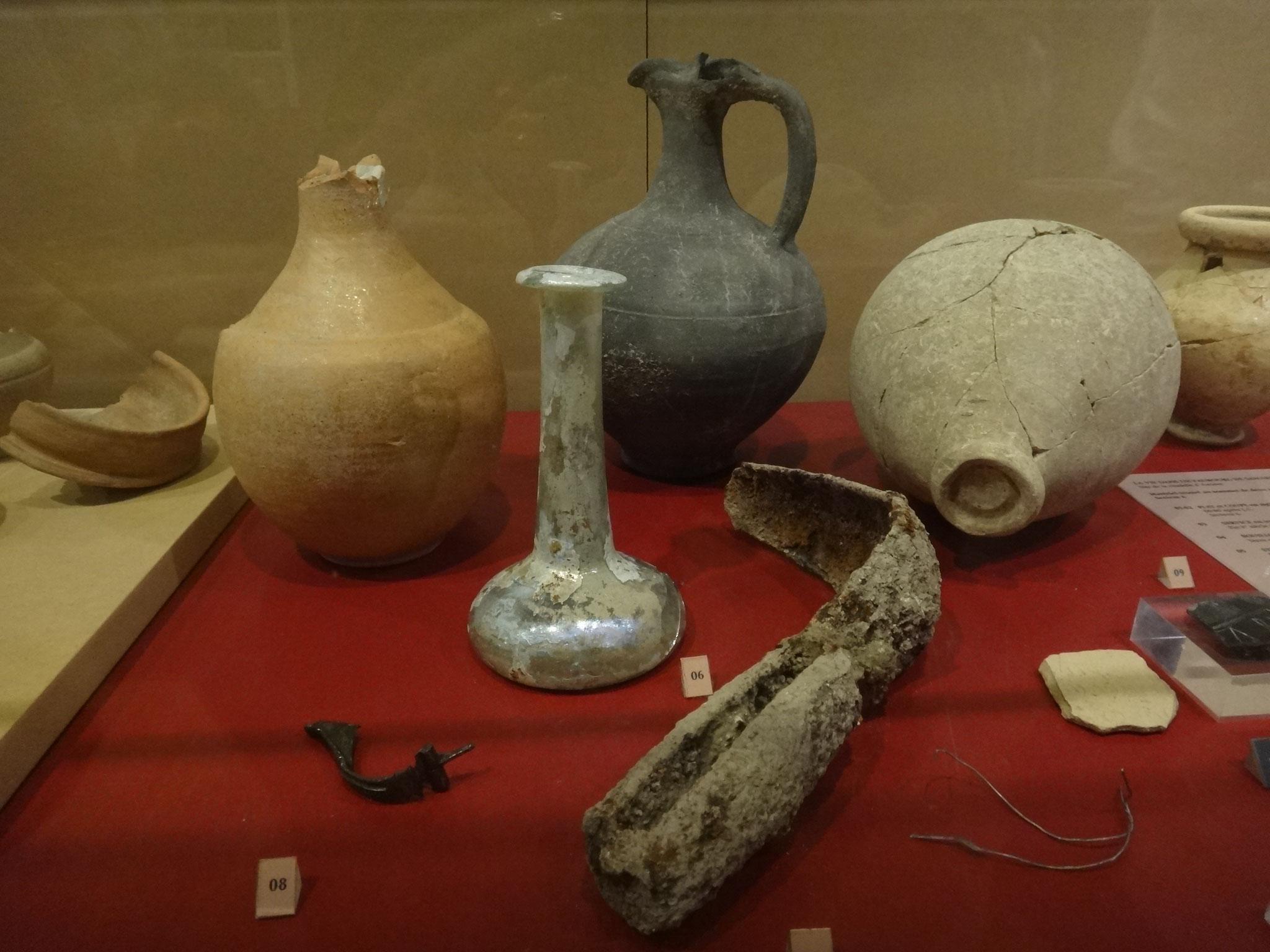 strigille en fer; 2è siècle