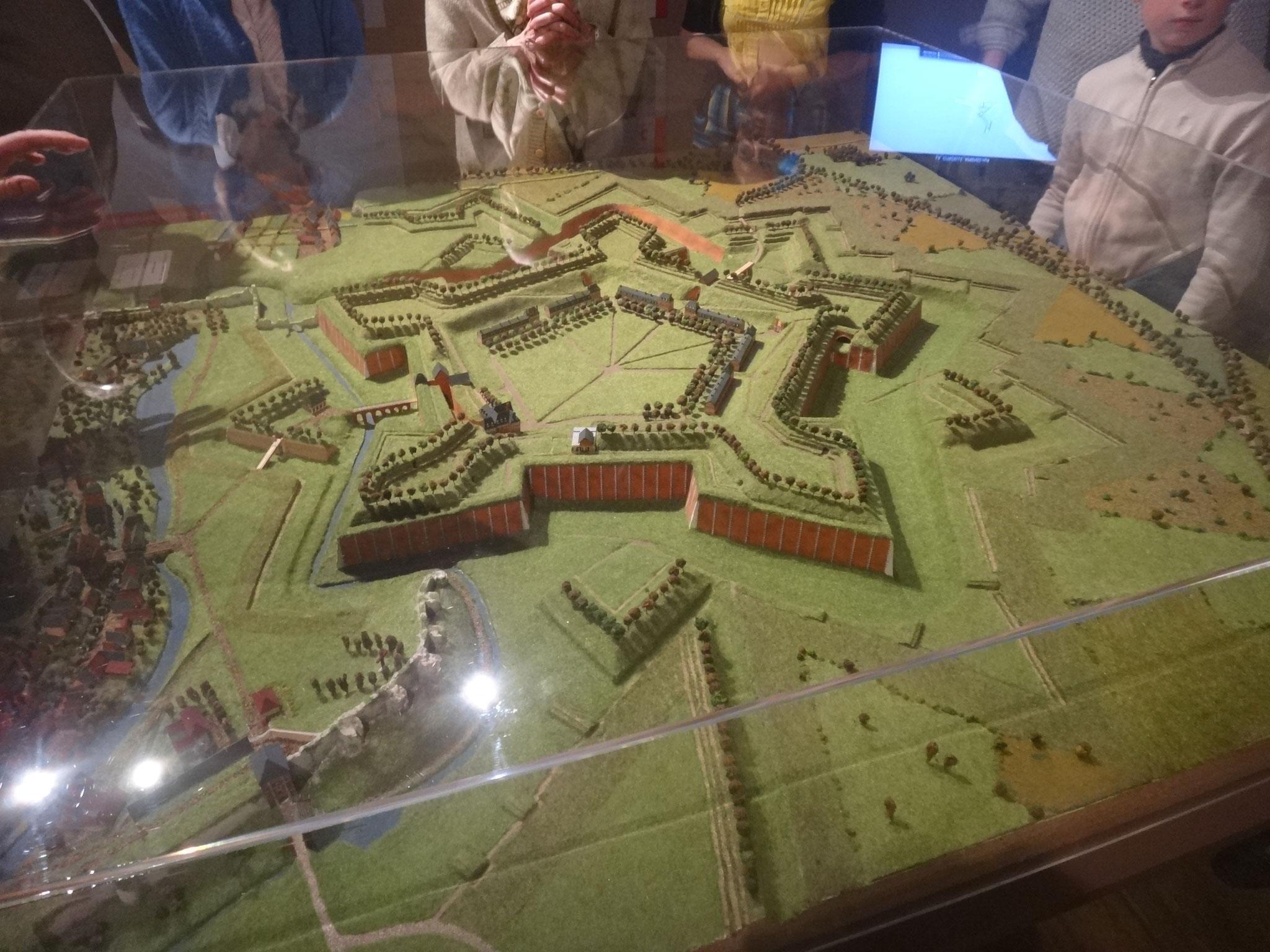 Maquette de la citadelle