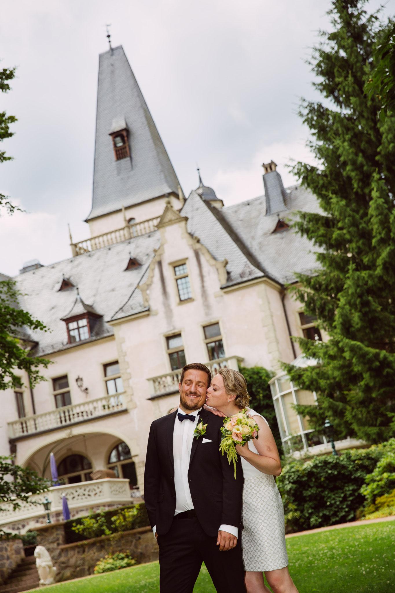 Hochzeitsfotos am Tremsbüttler Schloss