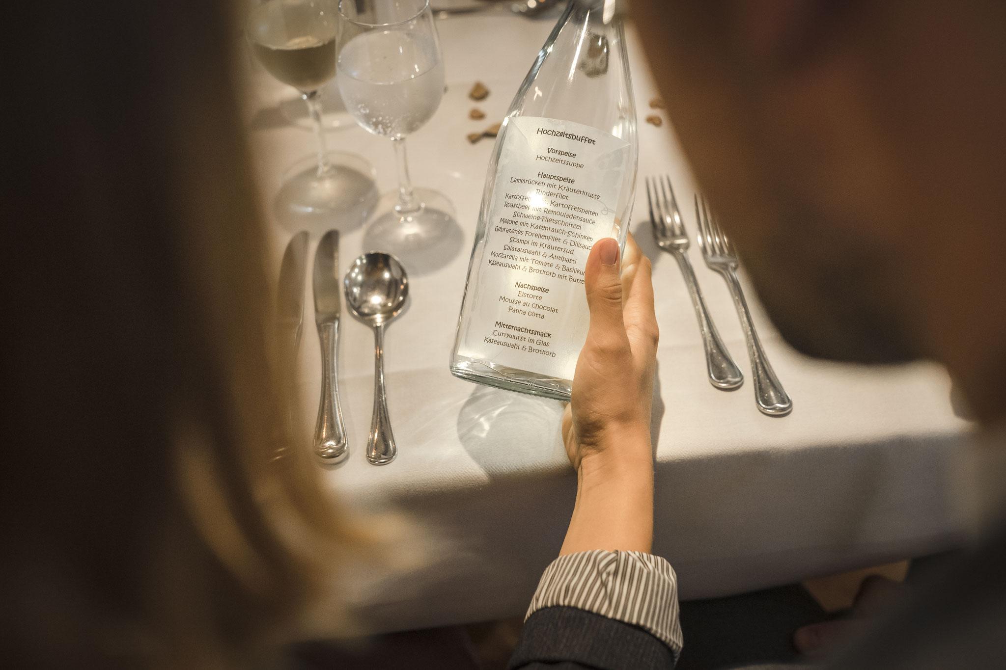 Hochzeitsbuffet oder lieber Menü?