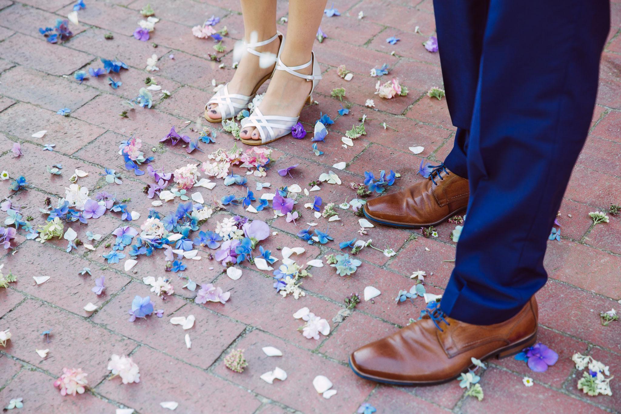 Das war zum Glück nicht der Brautstrauss