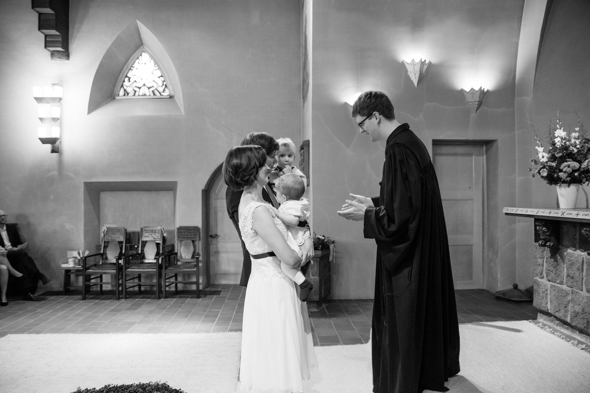 Hochzeit und Taufe in Einem