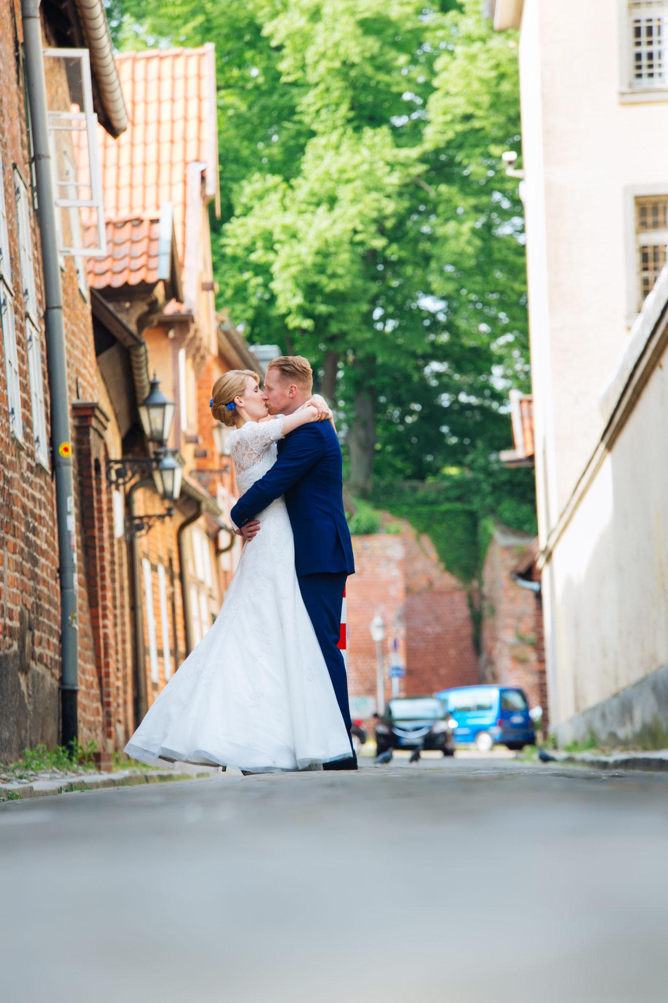 Brautpaar-Shooting in Lüneburg