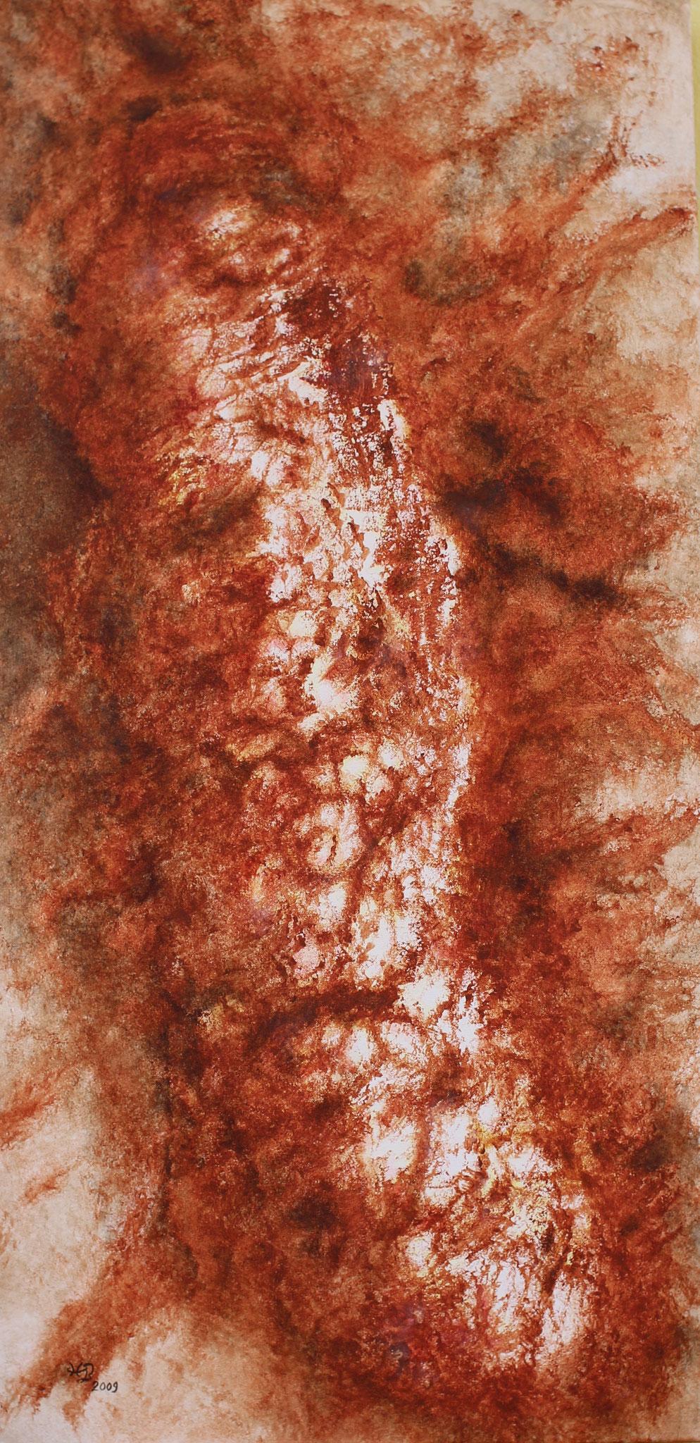 Lava, 2009, Acryl,