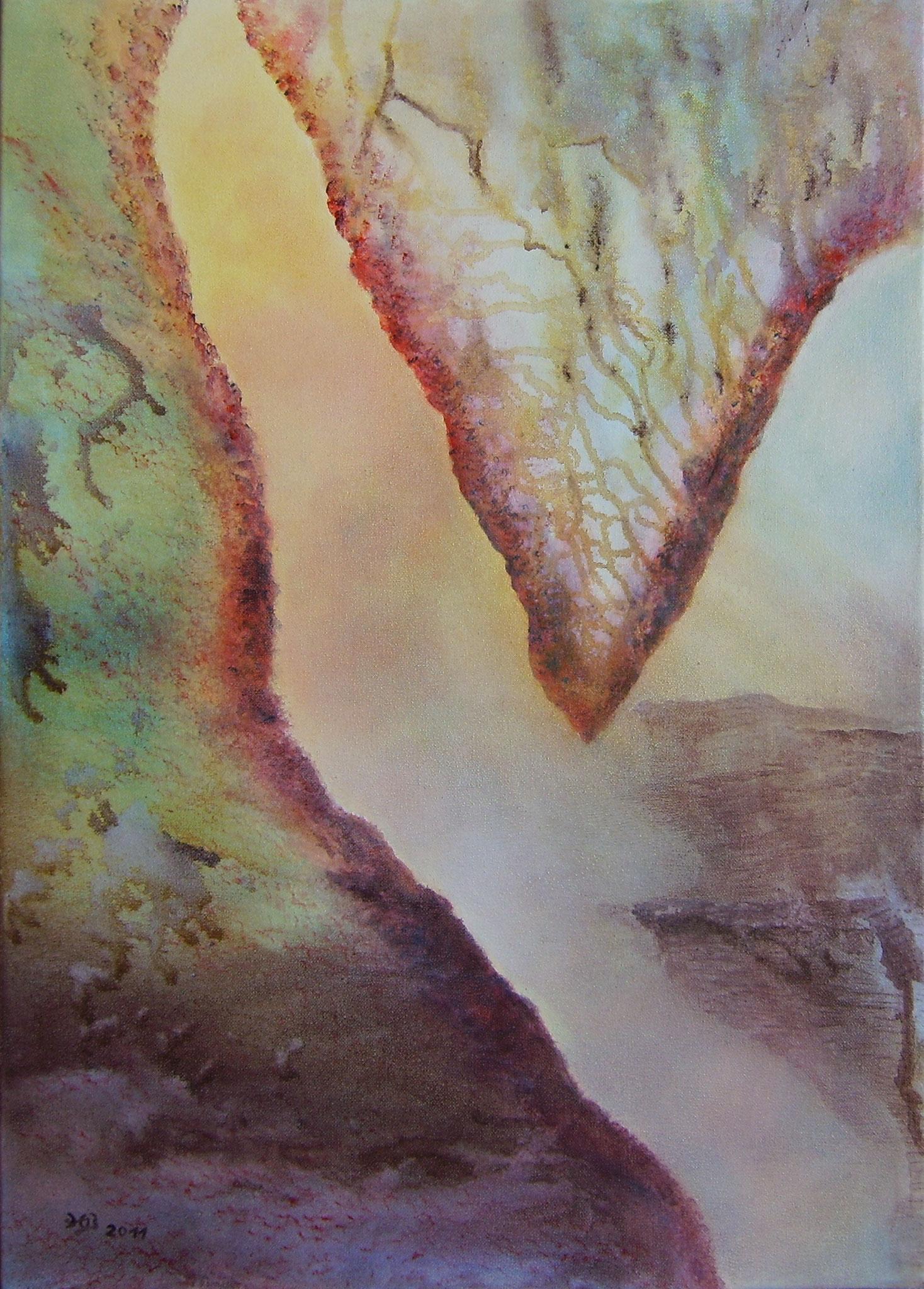 Sinfonie, 2011, Acryl, 50 x 70 cm