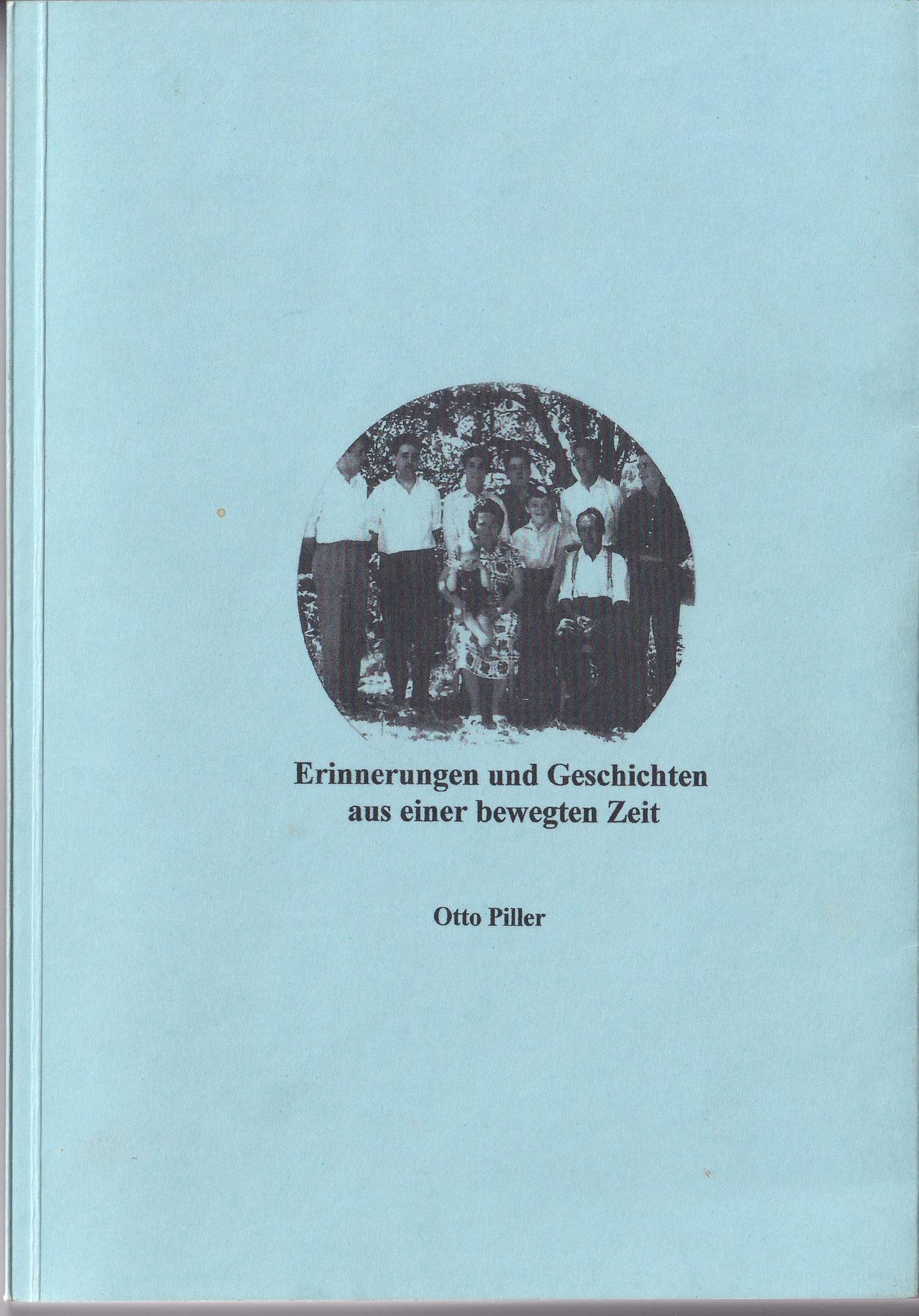 """Kapitel Parteigründung aus dem Buch von Otto Piller """"Erinnerungen und Geschichten aus einer bewegten Zeit"""""""