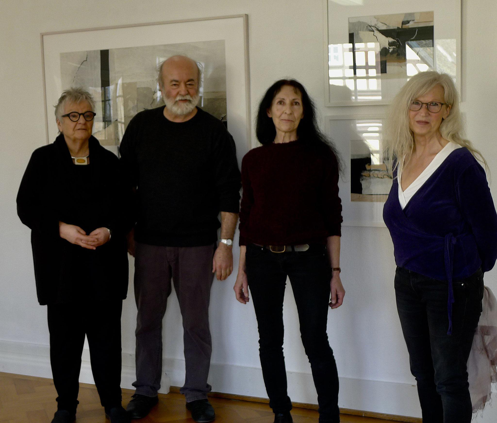 v.l.n.r.: Reingard Glass, Franz Raßl (HKV), Ursula Kensy, Renate Ziegler (HKV)