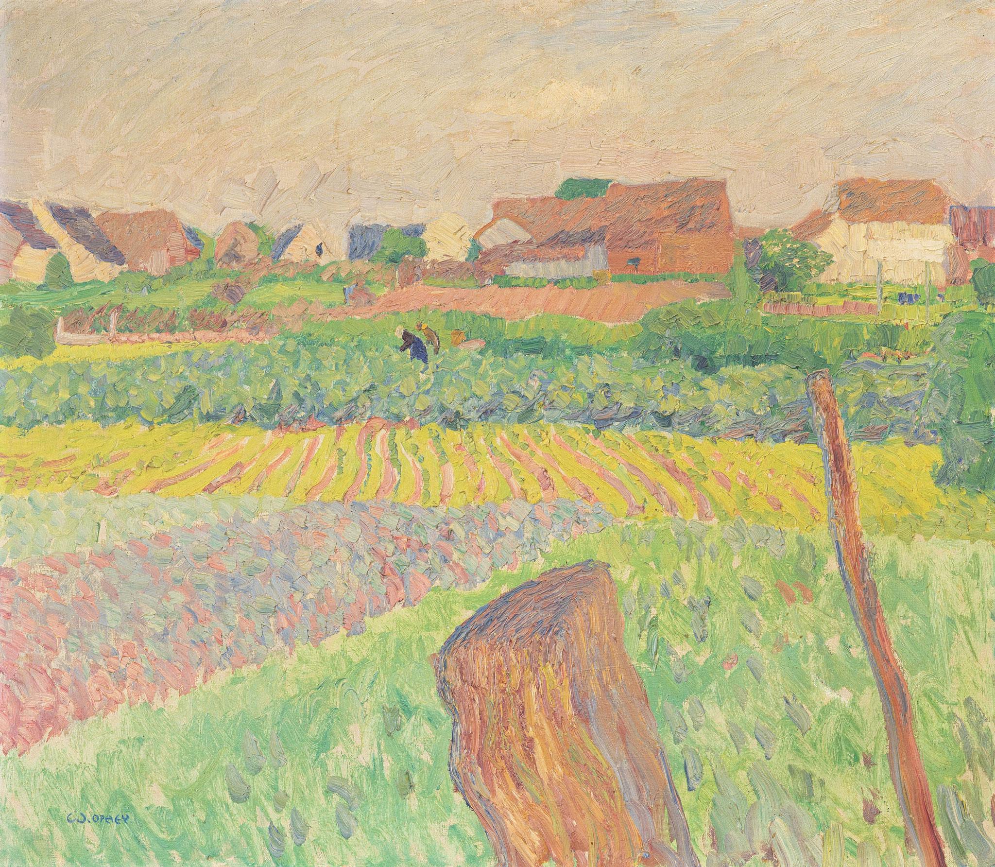 Walter Ophey (1882 Eupen - 1930 Düsseldorf) Limit: 10.000 € | Zuschlag: 51.250 €