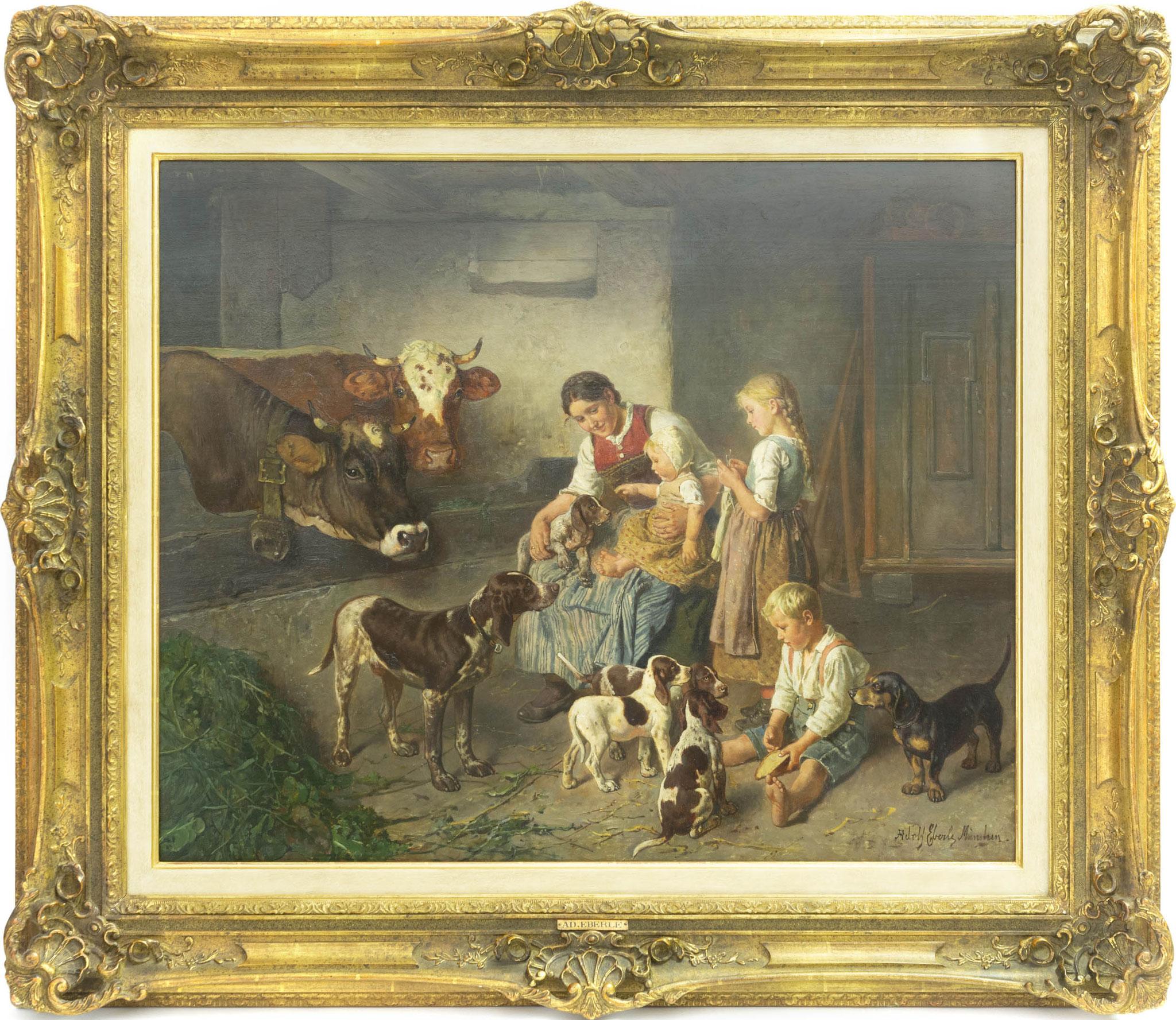 Adolf Eberle (1843 München - 1914 ebenda) Limit: 5.500 € | Zuschlag: 25.000 €