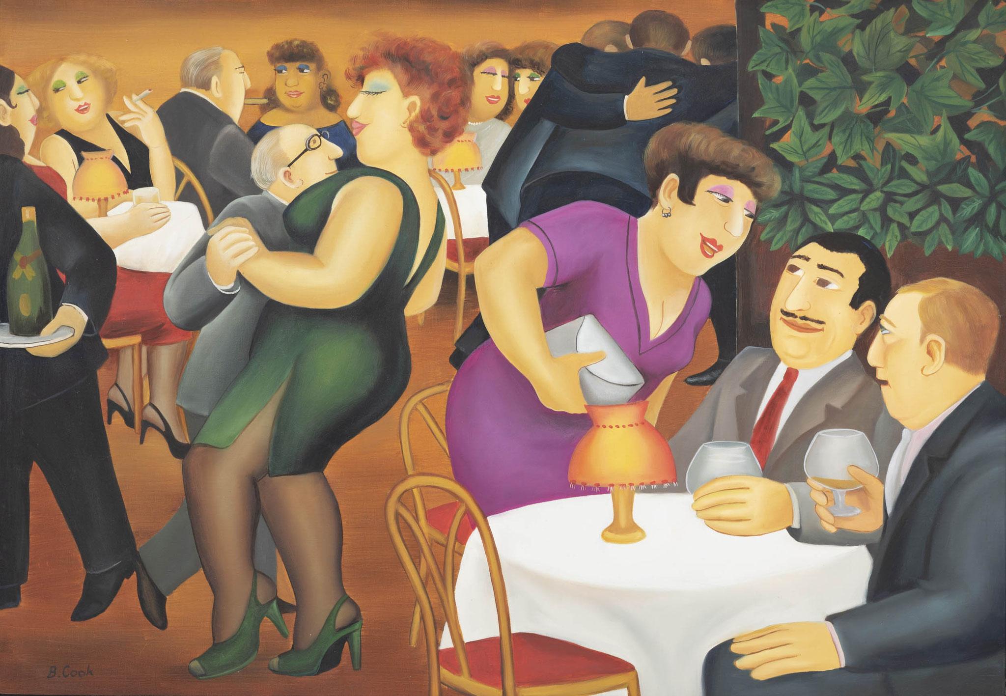 Beryl Cook (1926 Egham/ UK - 2008 Plymoth/UK) Limit: 7.000 € | Zuschlag: 21.250 €