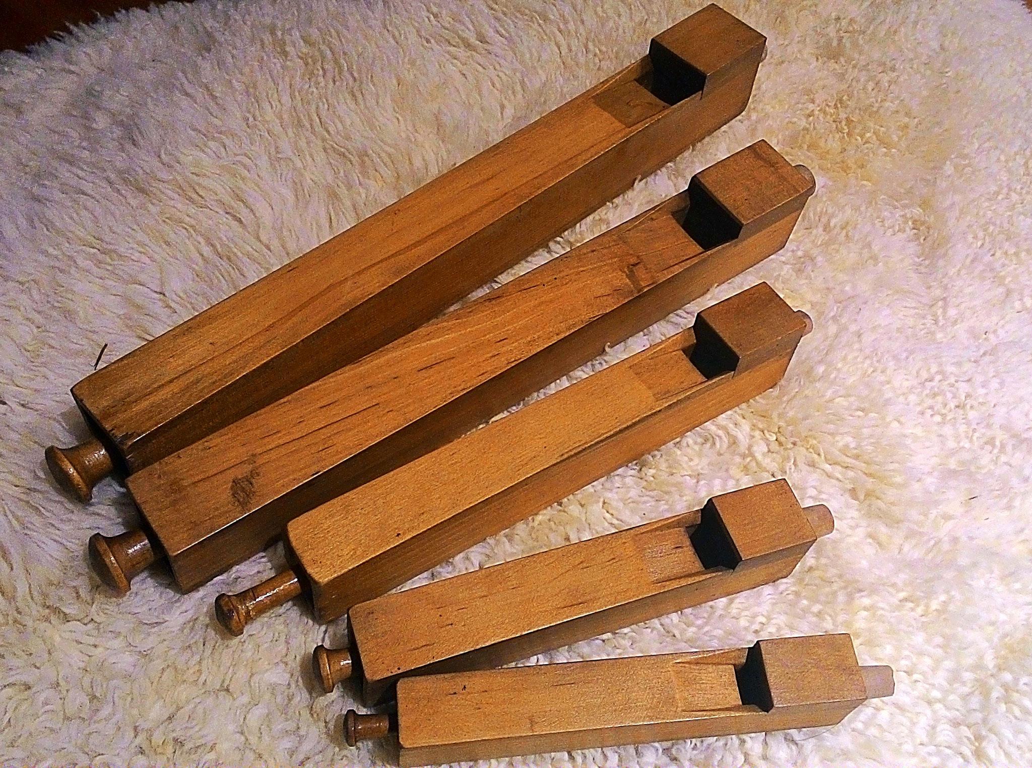 Kleine Orgelpfeifen