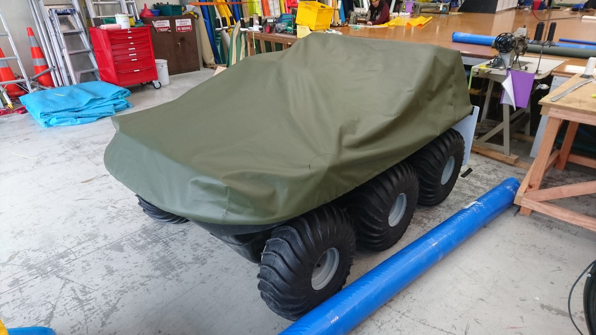 DUKW Vehicle Cover