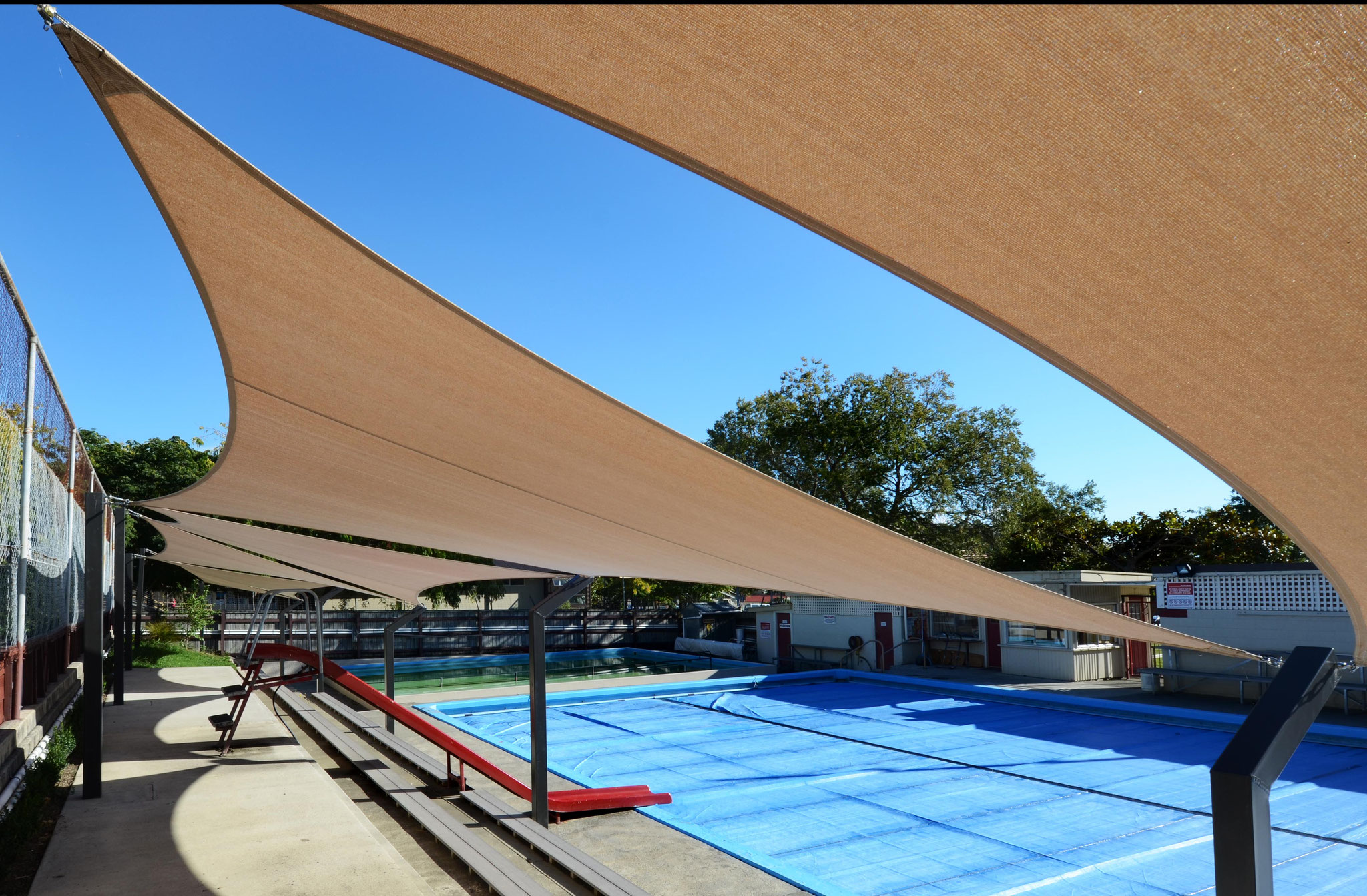 Hampton Street School Pool Shade