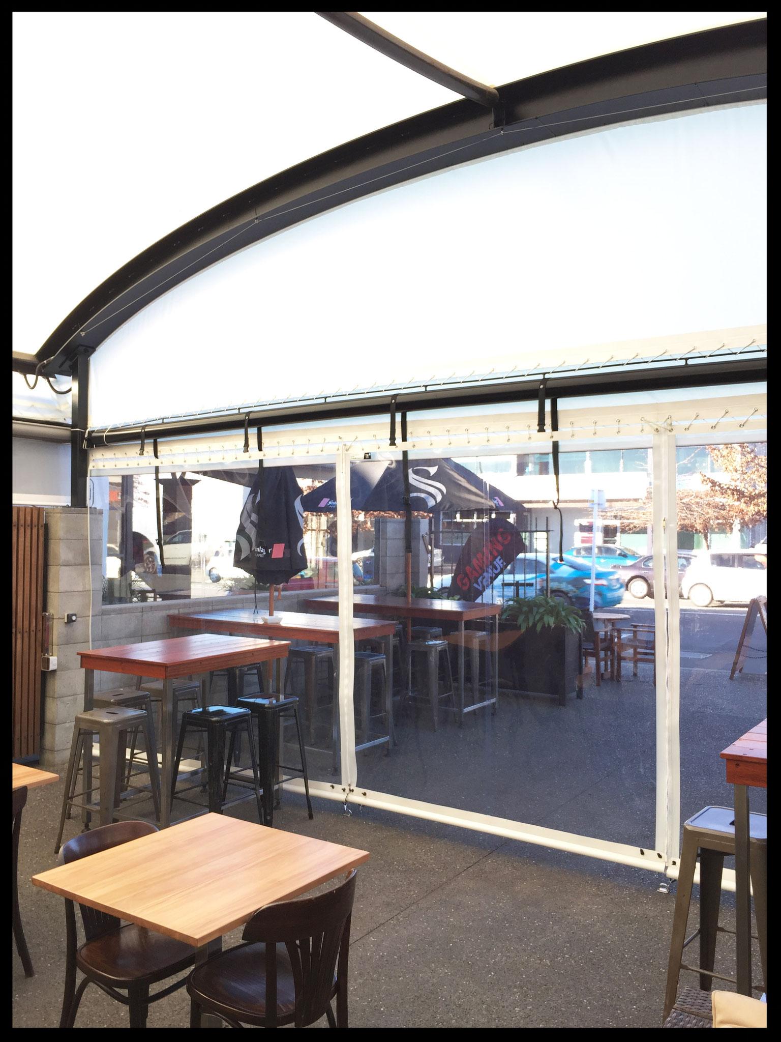 The Waka, Outdoor Garden Bar, Nelson