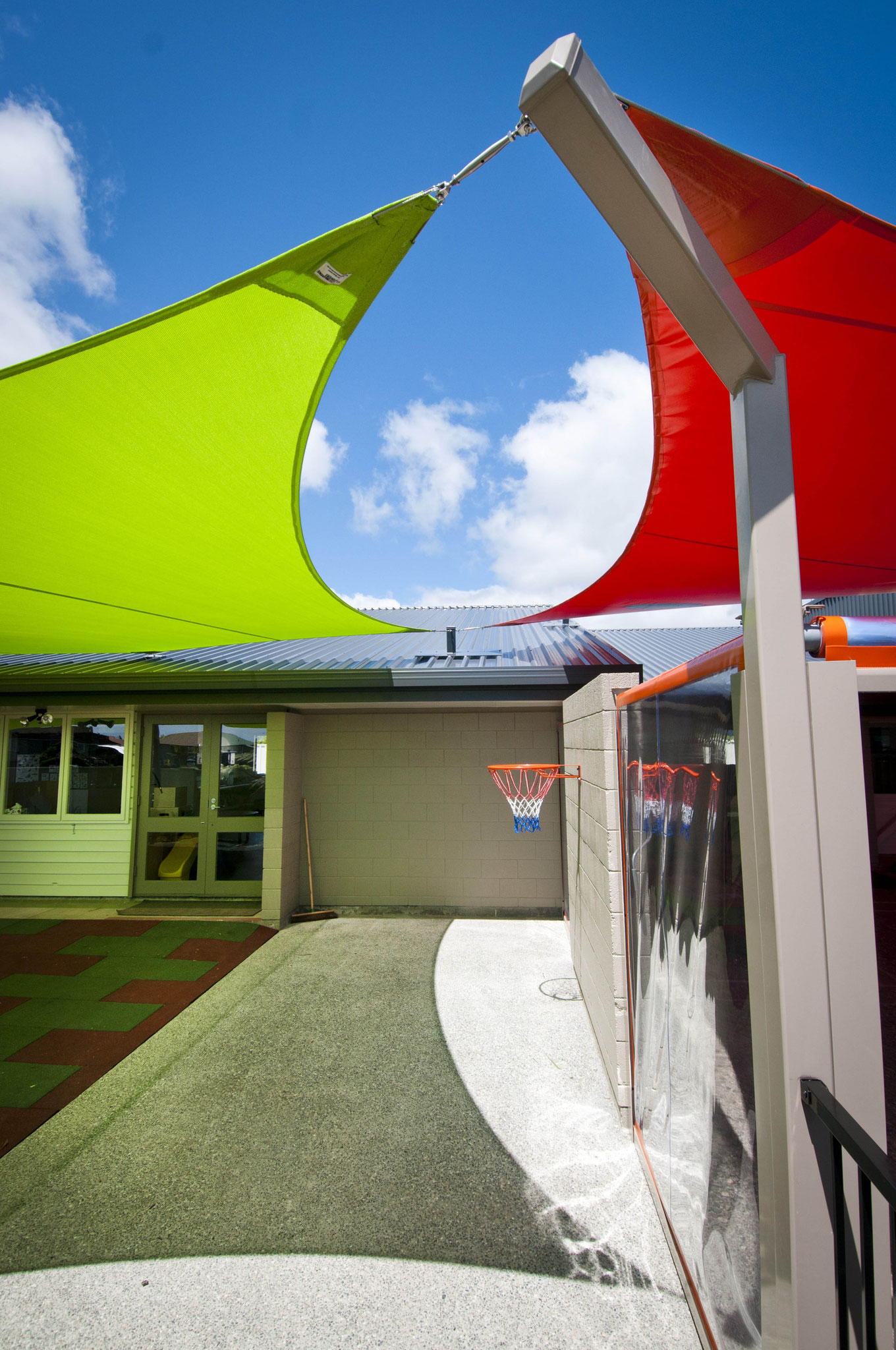 Westport early childhood centre shade