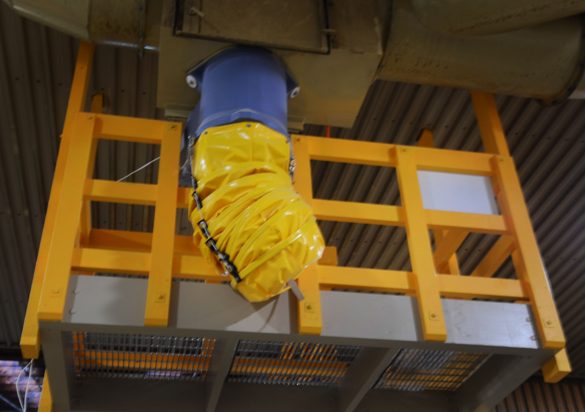 Industrial Waste Chute